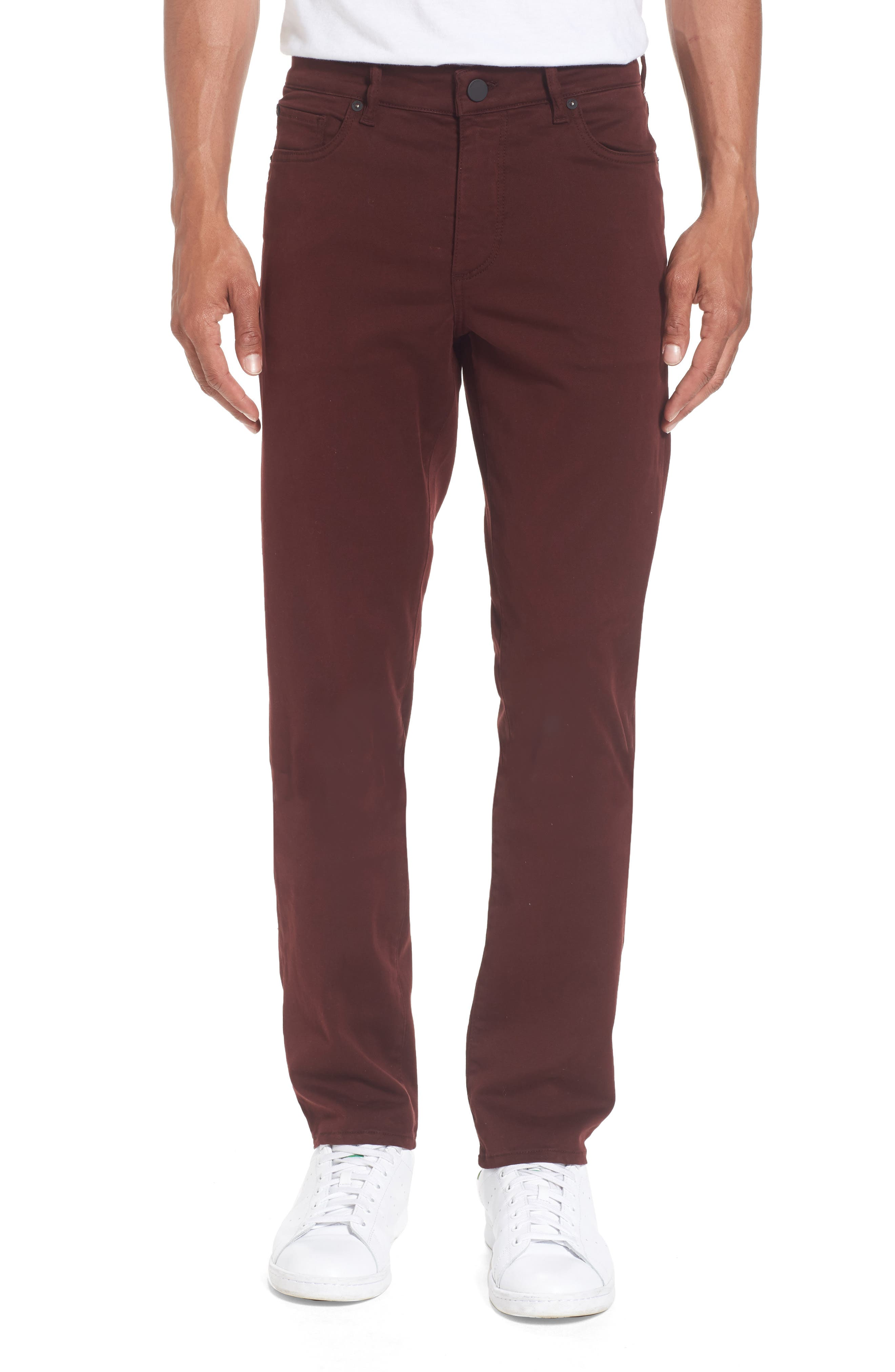Russell Slim Fit Sateen Twill Pants,                             Main thumbnail 11, color,