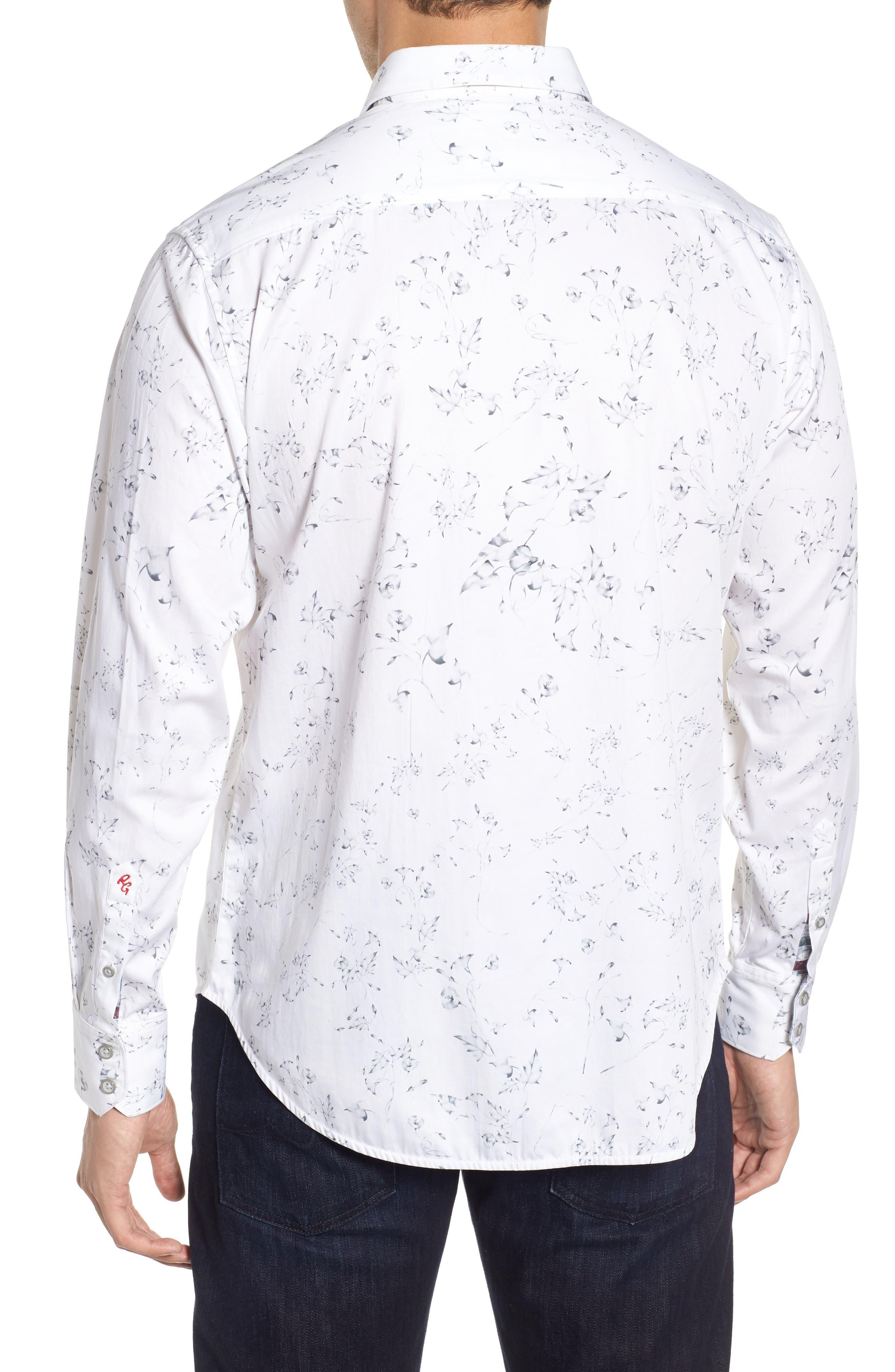 De La Cruz Classic Fit Sport Shirt,                             Alternate thumbnail 2, color,                             100