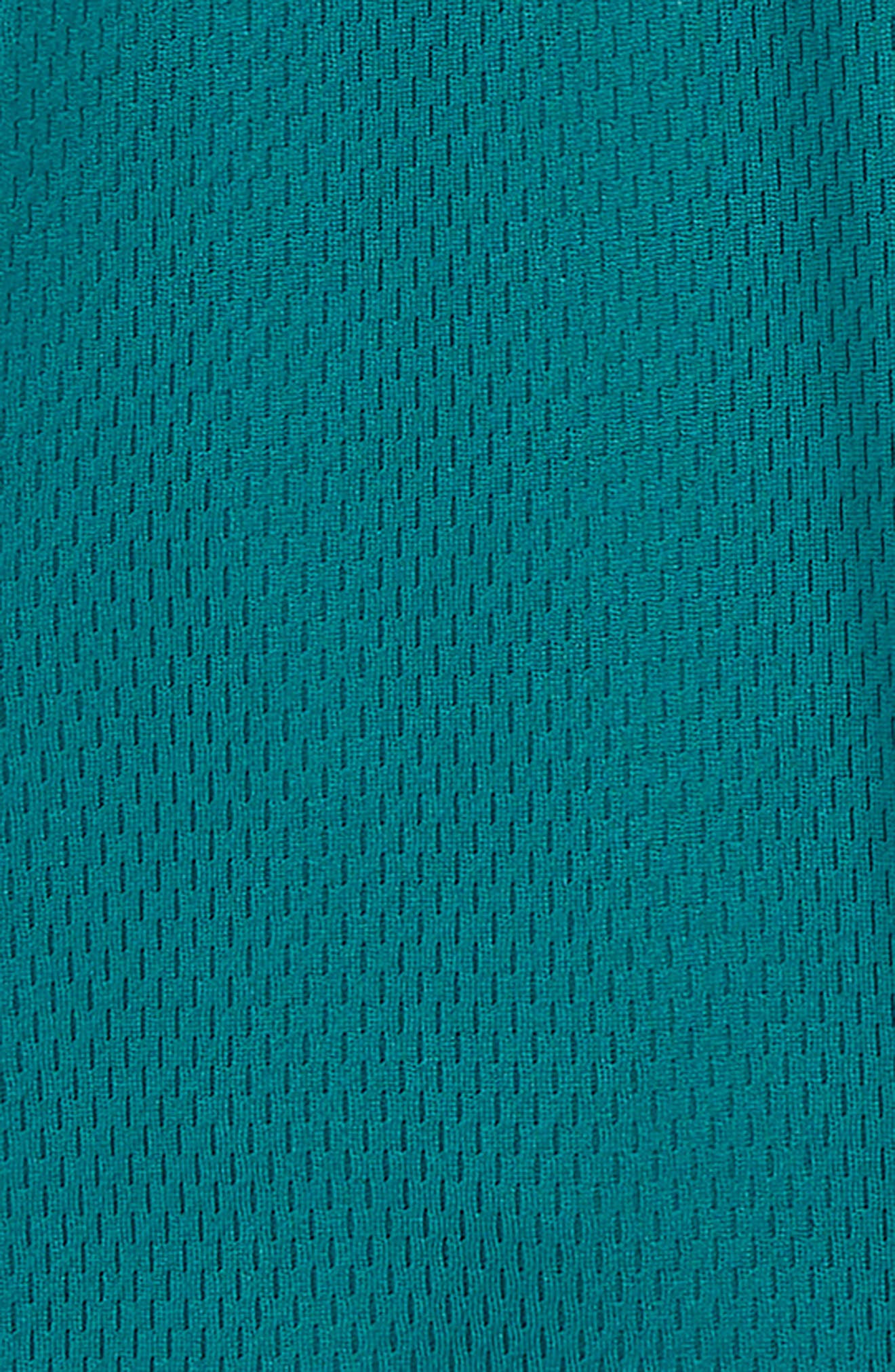 Dry Elite Basketball Shorts,                             Alternate thumbnail 3, color,                             GEODE TEAL/ CONE