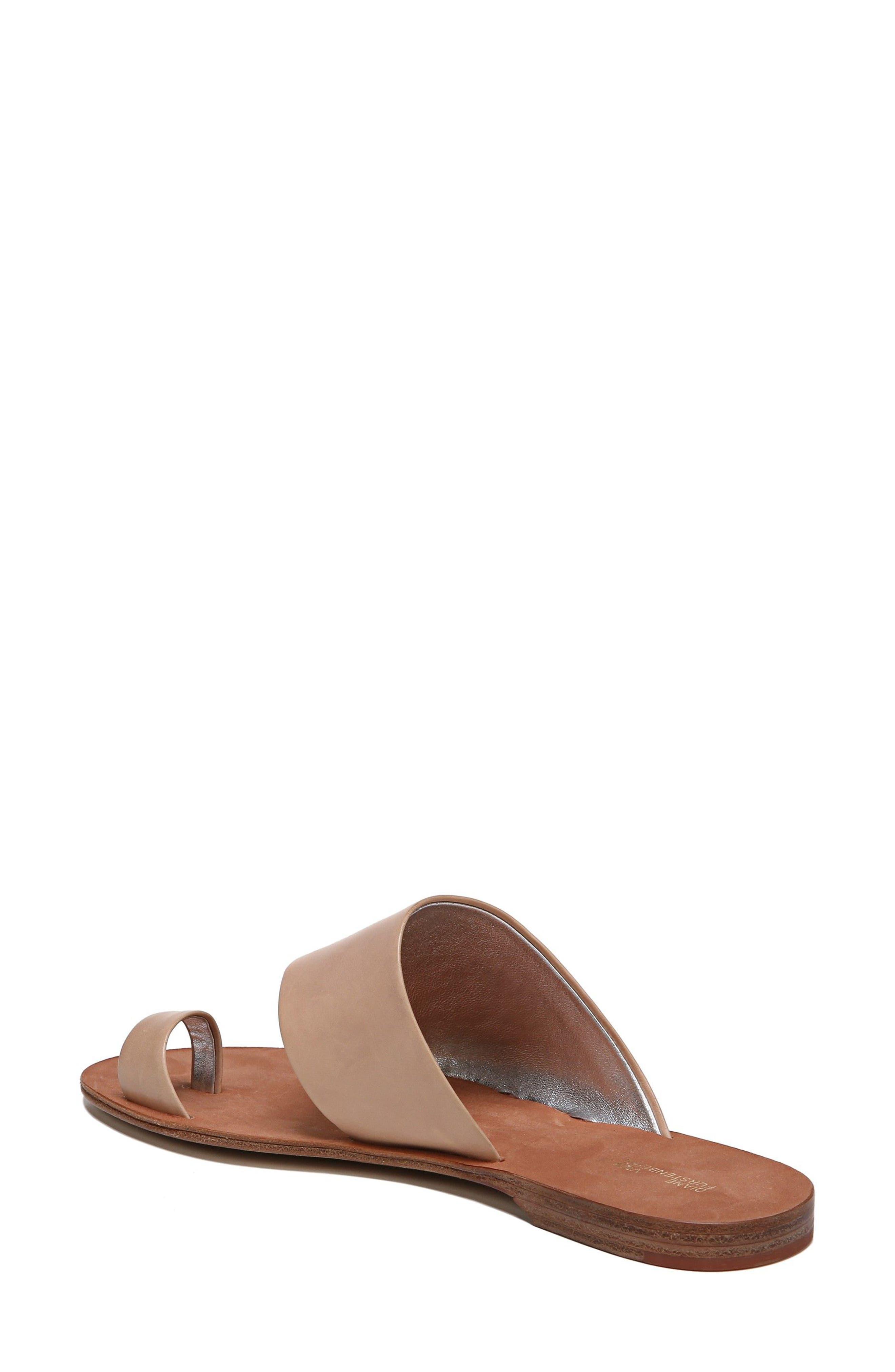 Brittany Asymmetrical Flat Sandal,                             Alternate thumbnail 2, color,                             202
