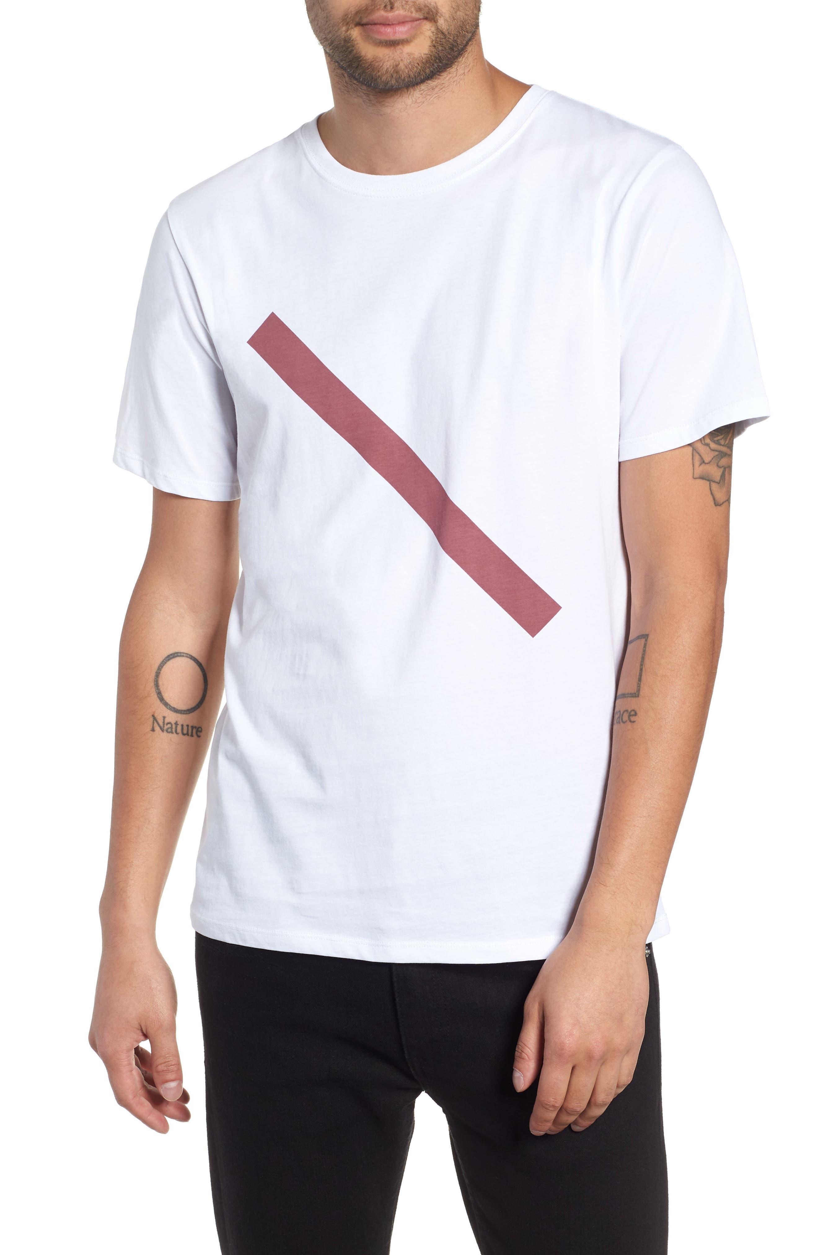 Slash Graphic T-Shirt,                             Main thumbnail 1, color,                             110