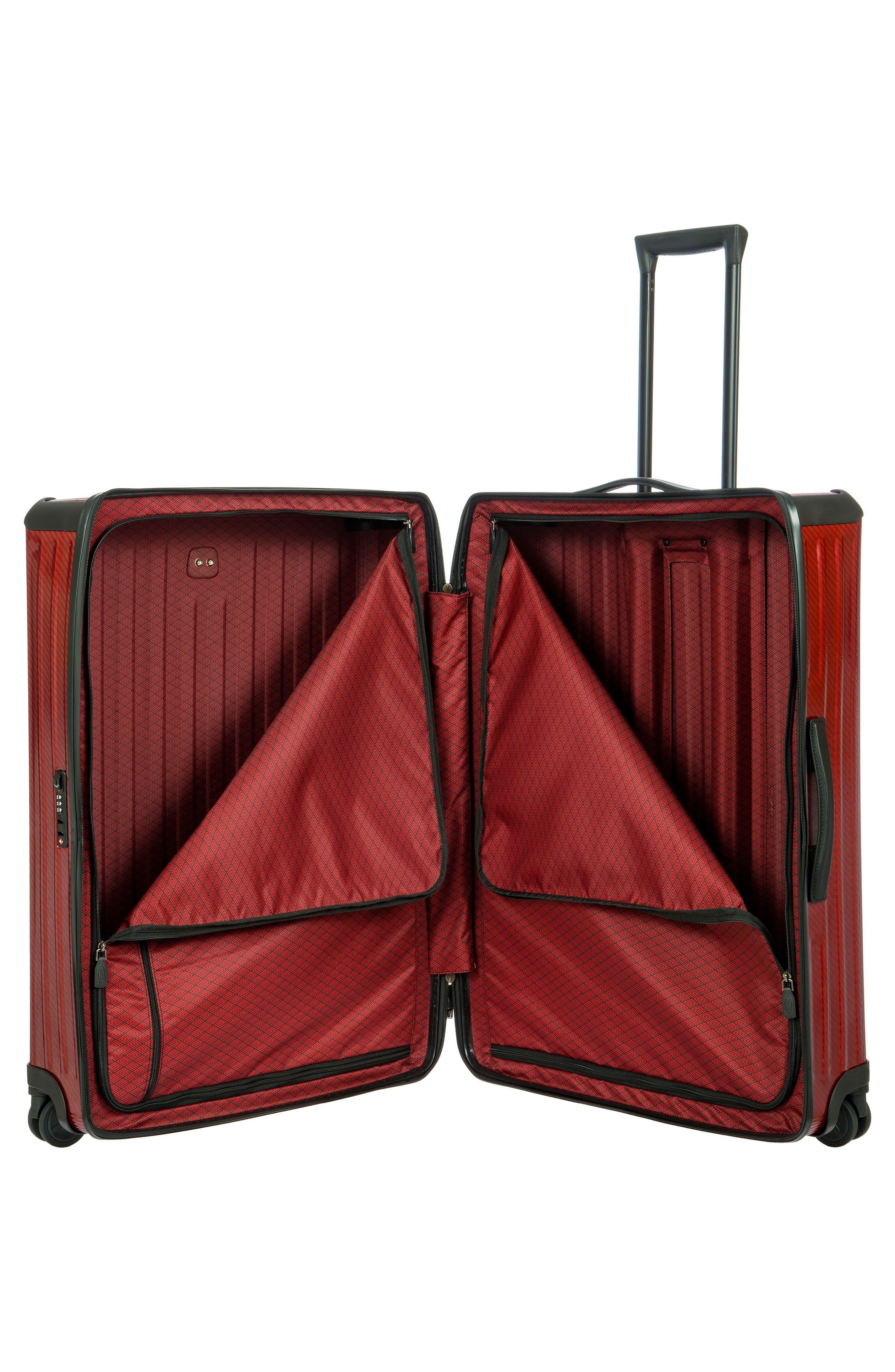 Venezia 30-Inch Hardshell Spinner Suitcase,                             Alternate thumbnail 2, color,                             RUBY