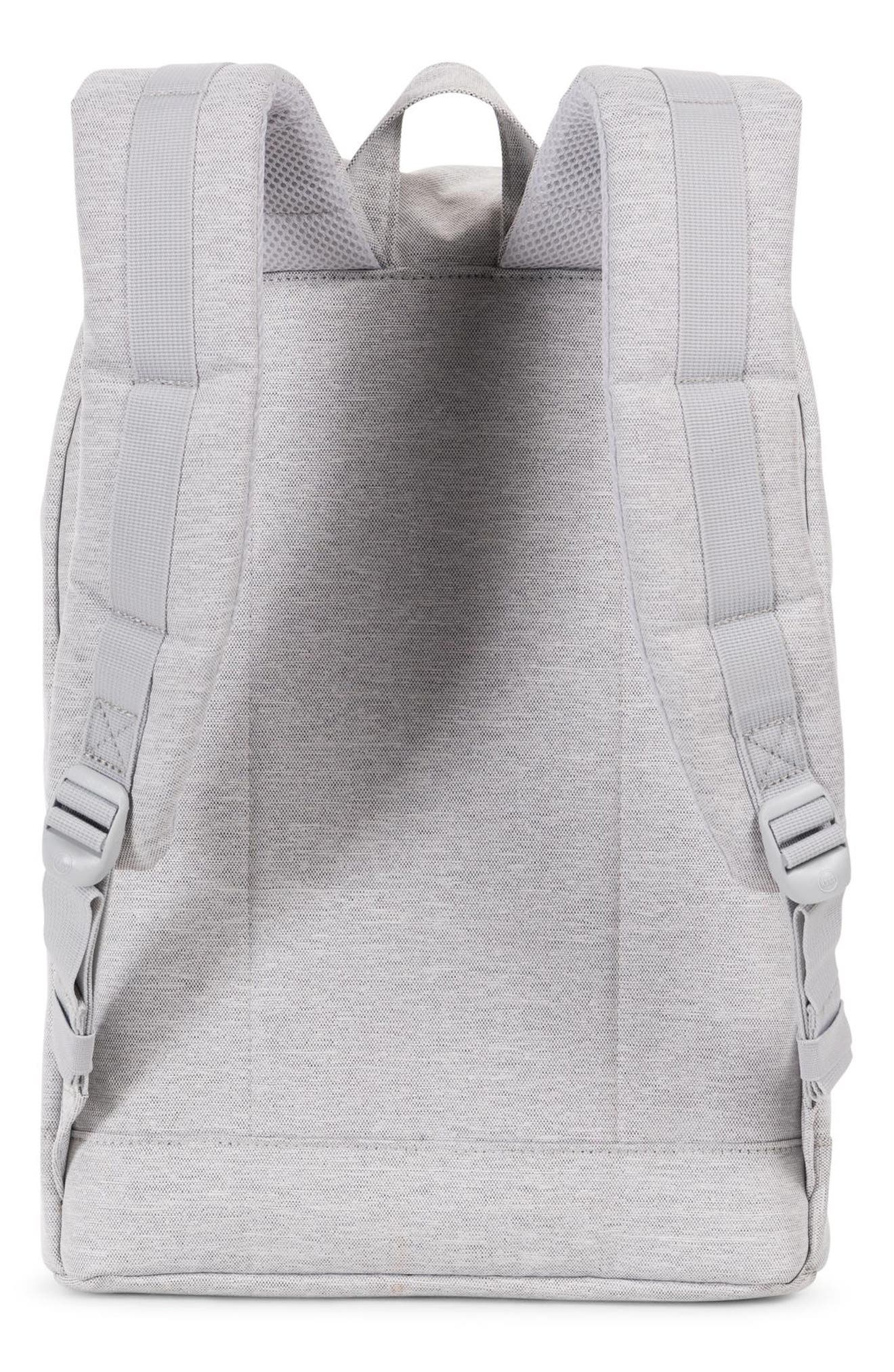 Retreat Backpack,                             Alternate thumbnail 2, color,                             LIGHT GREY CROSSHATCH/ GREY