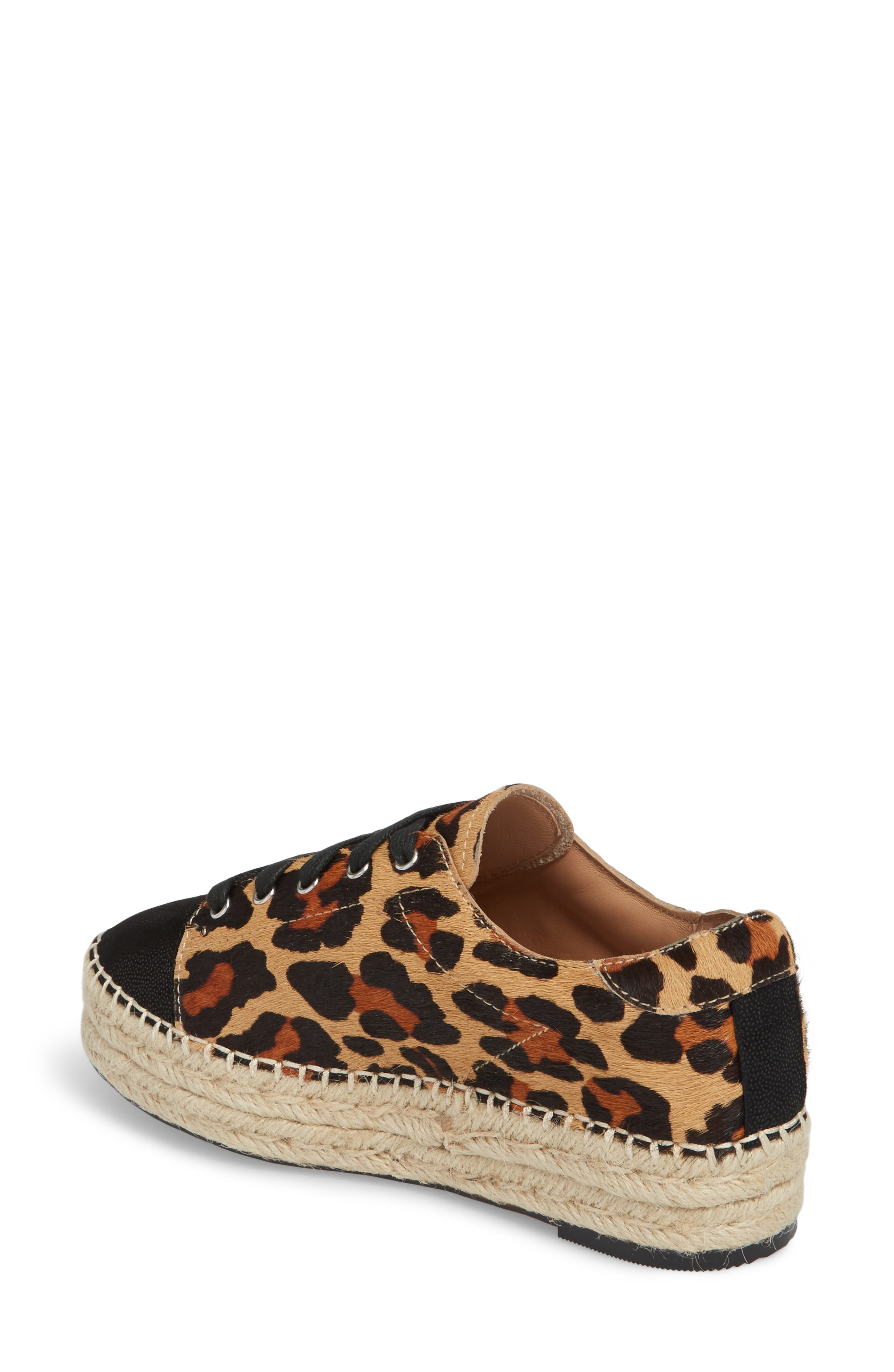 Sierra II Genuine Calf Hair Lace-Up Espadrille,                             Alternate thumbnail 2, color,                             212