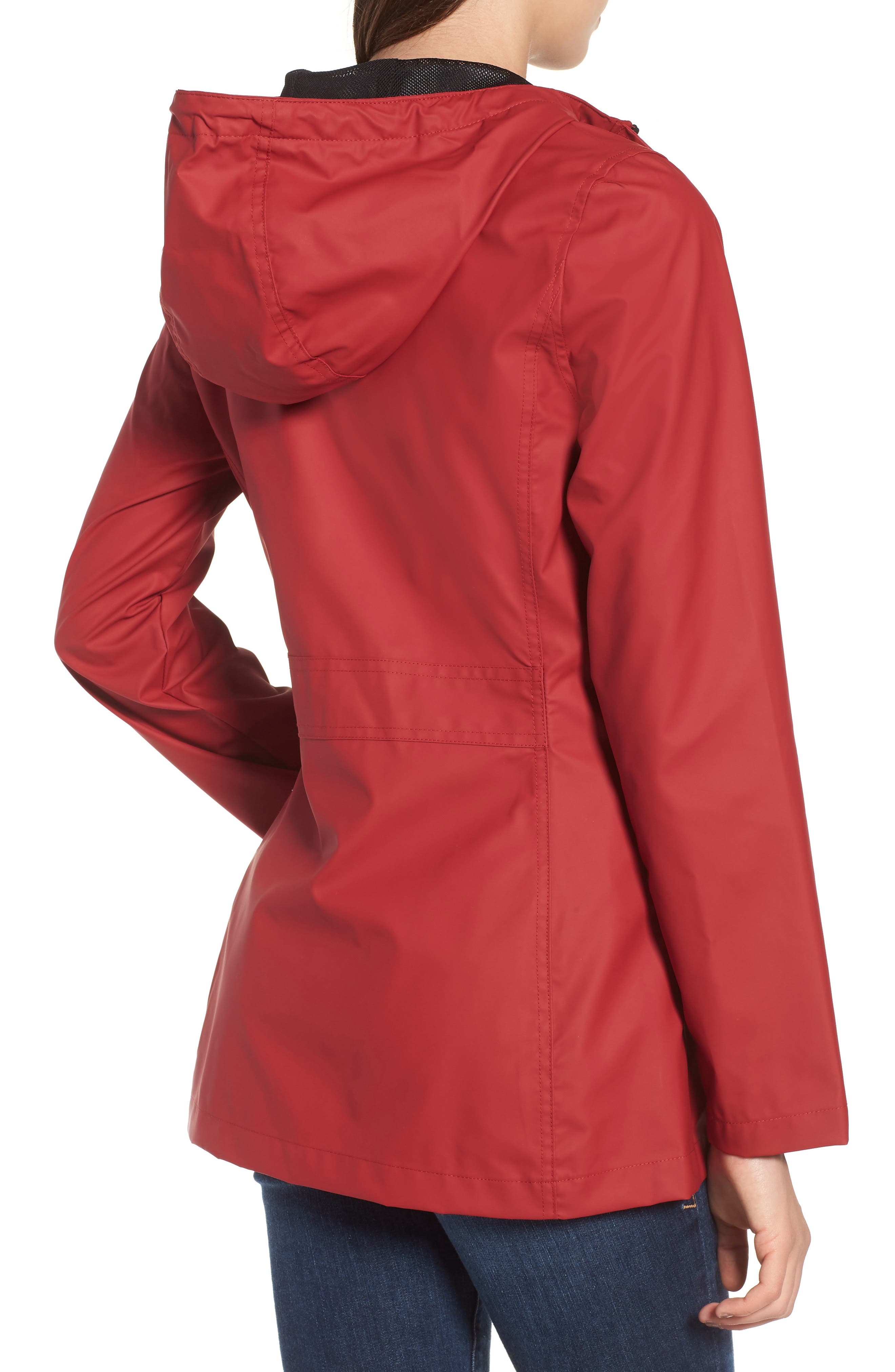 Hooded Raincoat,                             Alternate thumbnail 9, color,