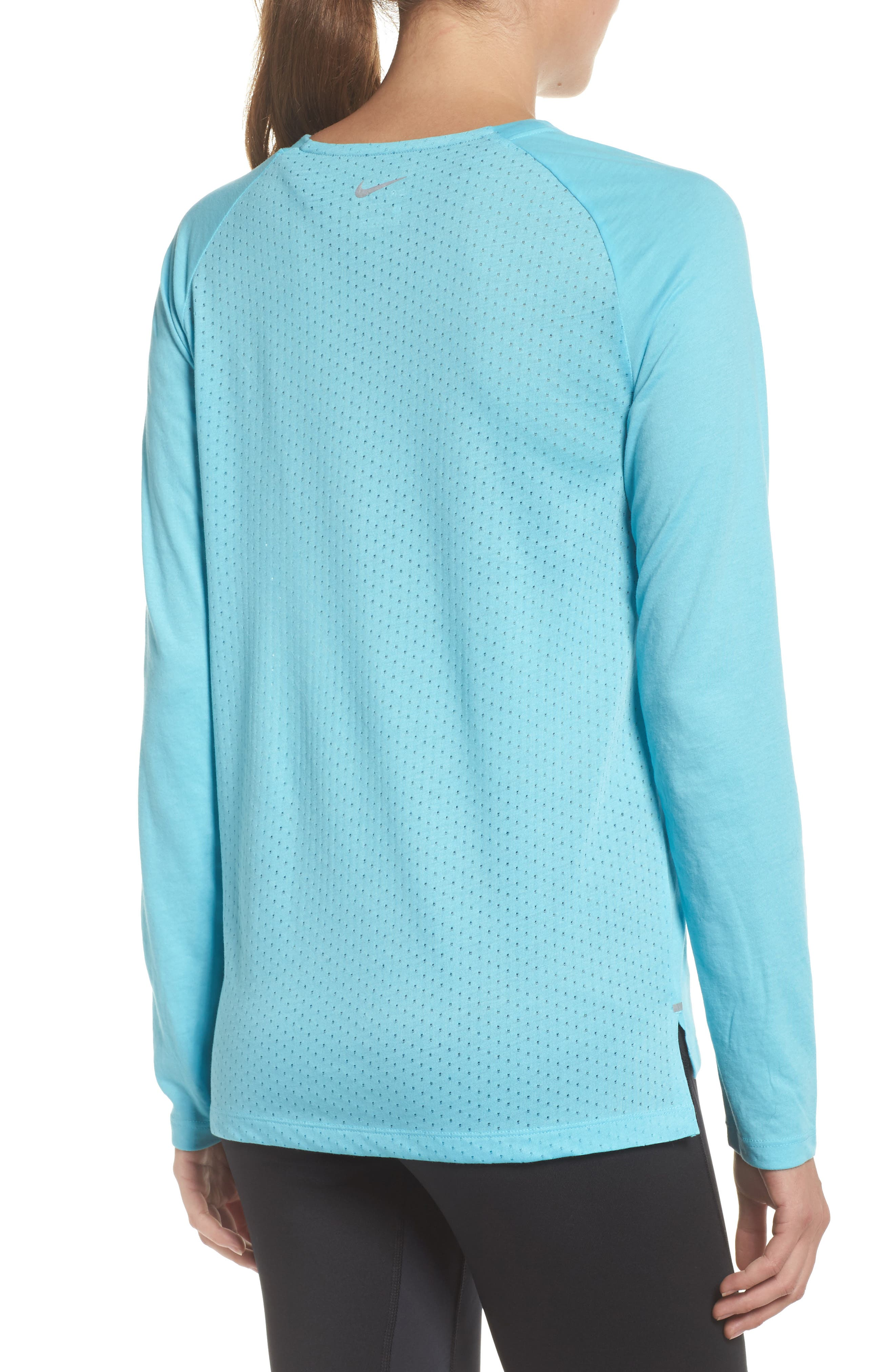 Breathe Tailwind Running Top,                             Alternate thumbnail 4, color,