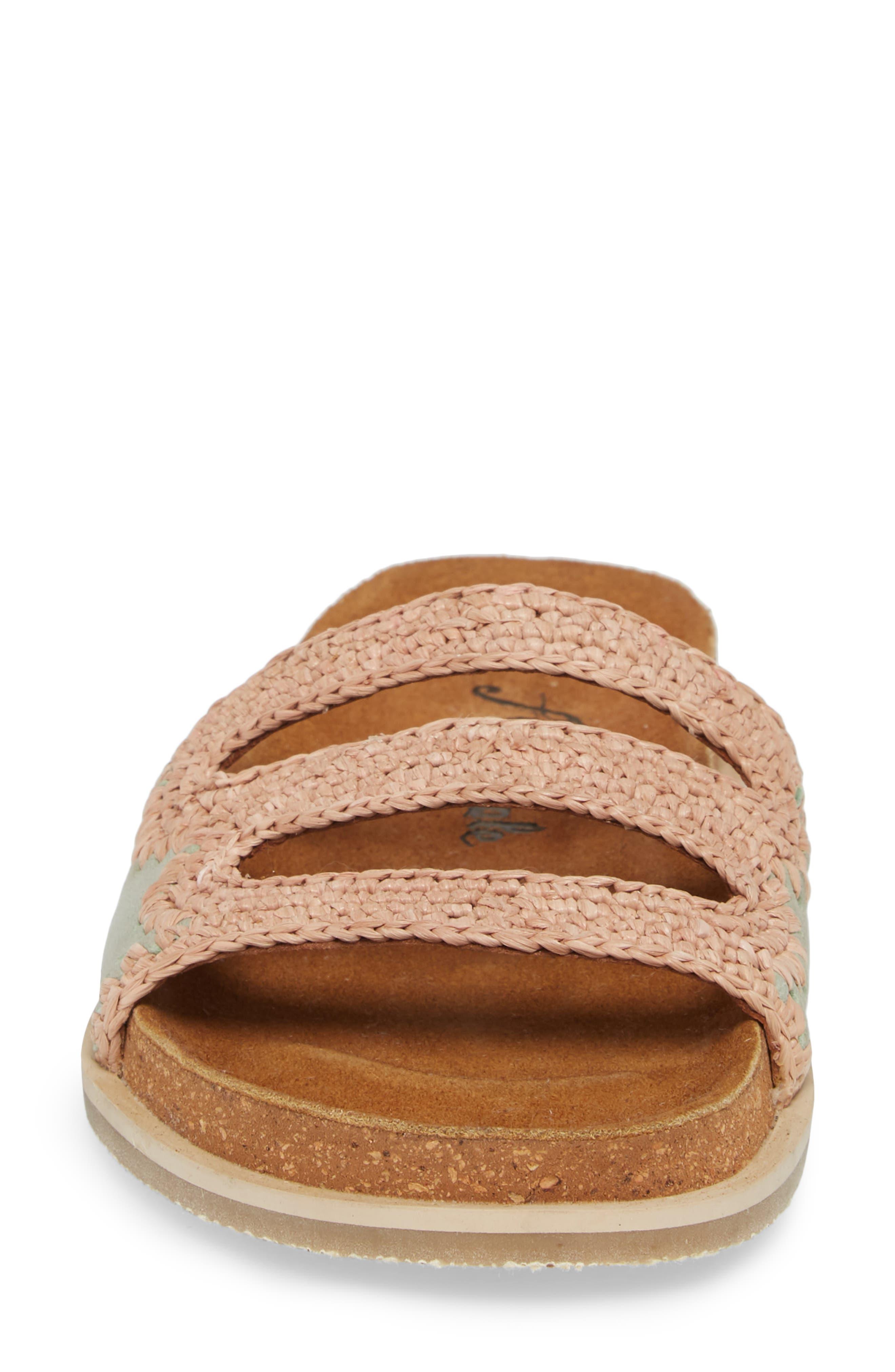 Crete Slide Sandal,                             Alternate thumbnail 8, color,