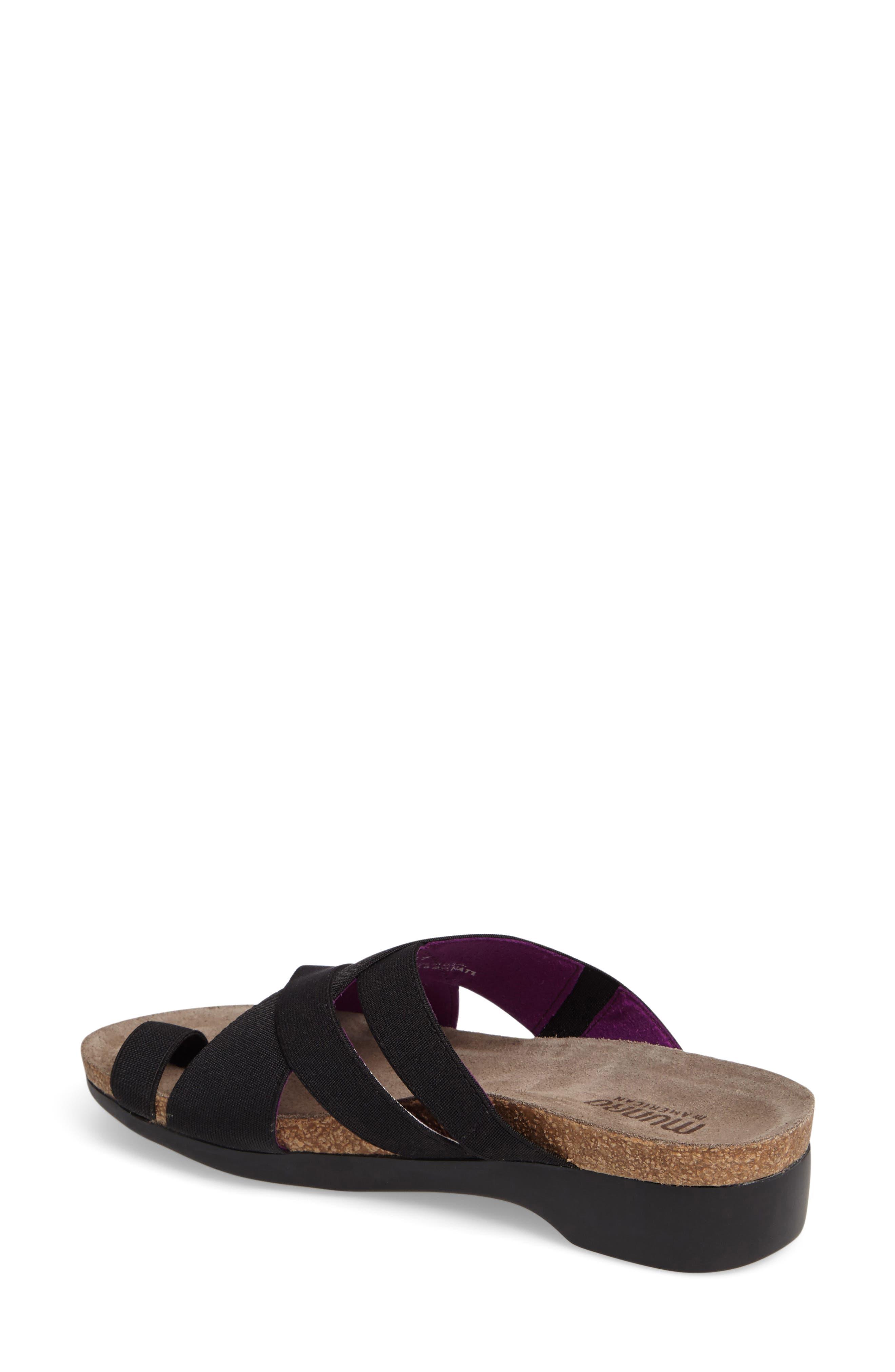 Delphi Slide Sandal,                             Alternate thumbnail 2, color,                             001