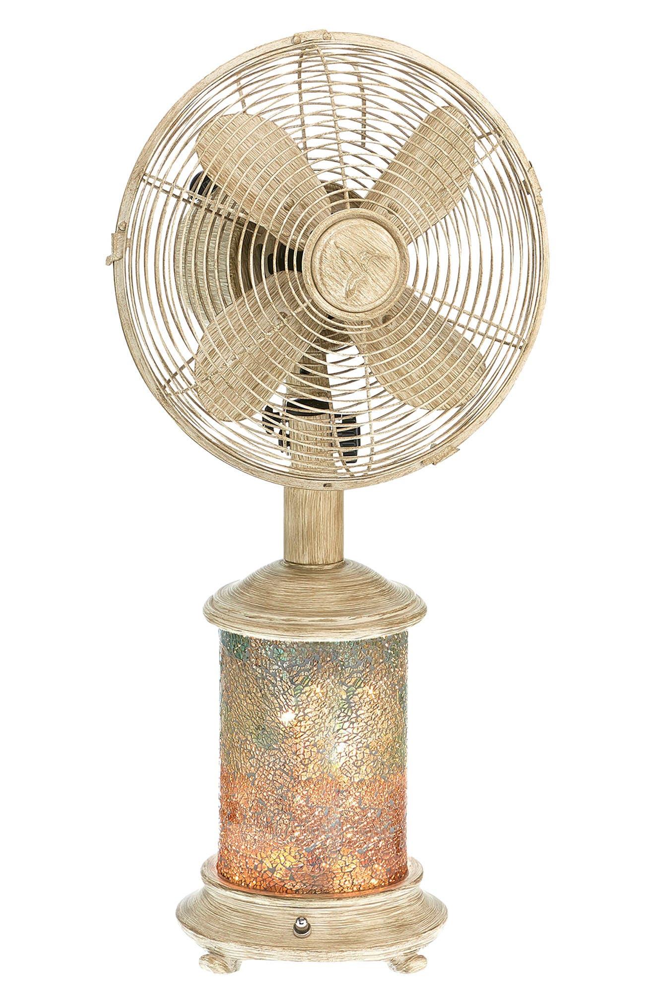 Sea Breeze Table Fan & Light,                             Main thumbnail 1, color,                             400