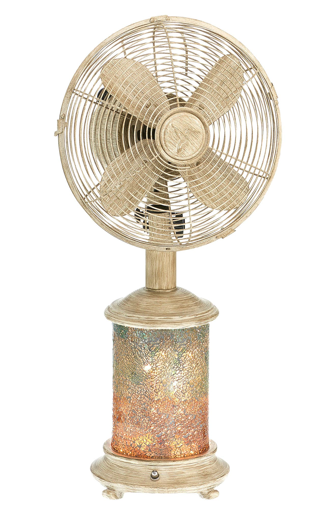 Sea Breeze Table Fan & Light,                         Main,                         color, 400