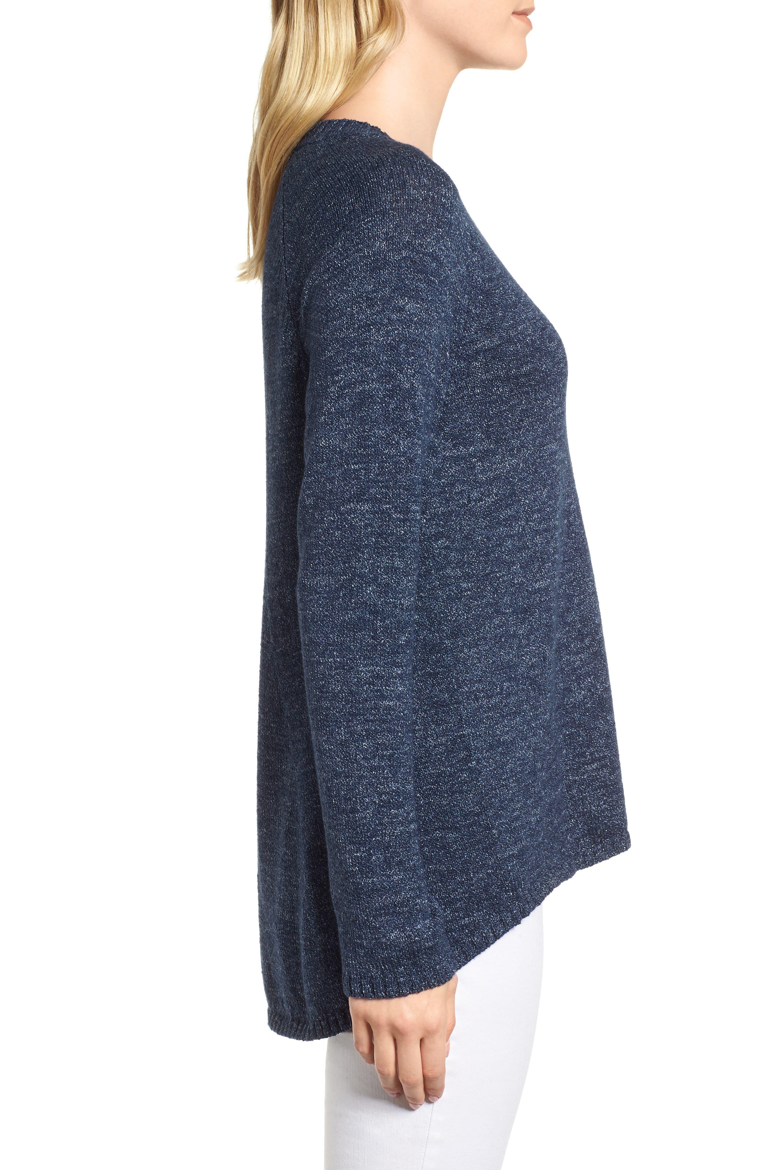 Organic Cotton Sweater,                             Alternate thumbnail 3, color,                             480