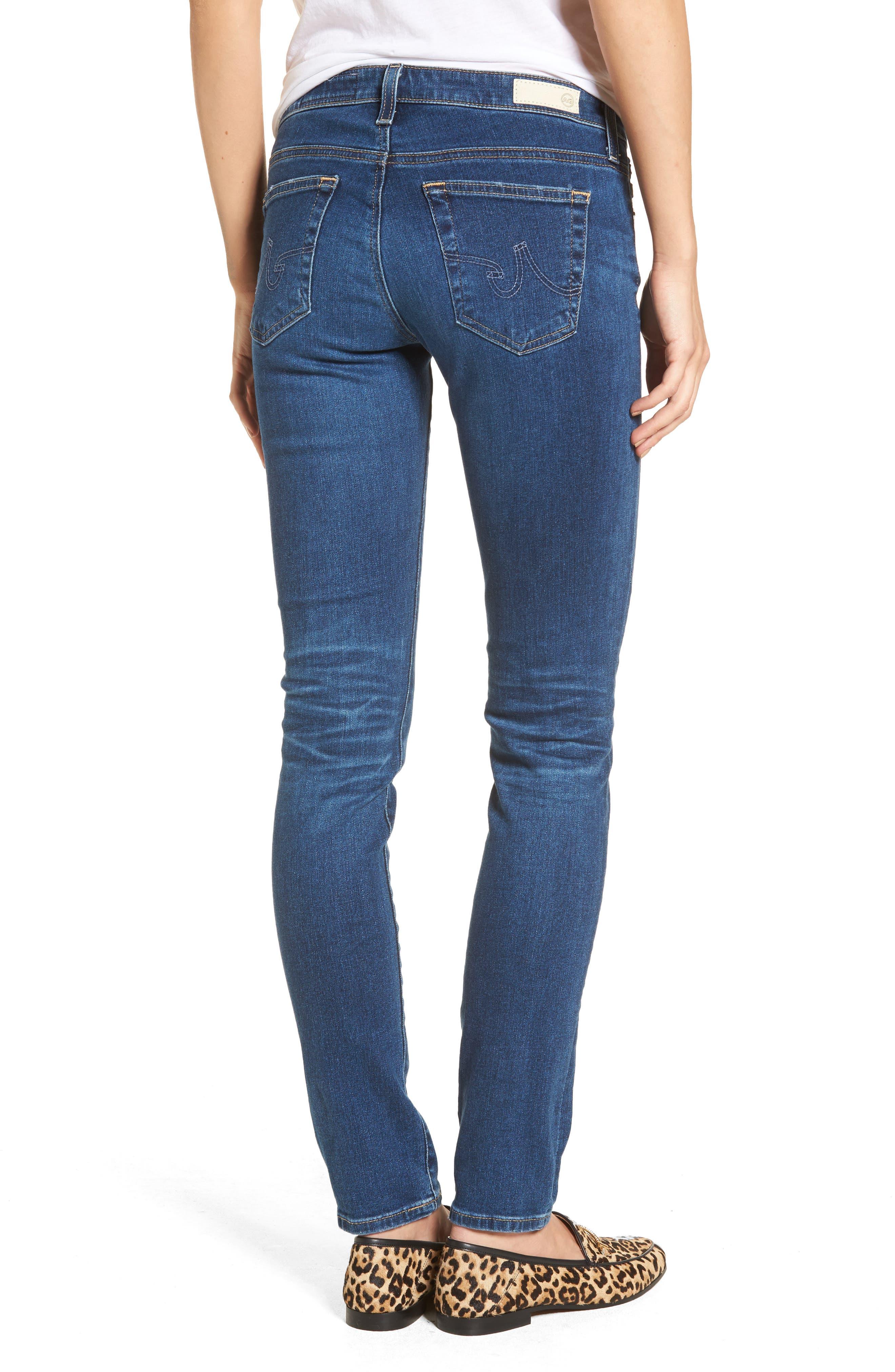 The Stilt Cigarette Skinny Jeans,                             Alternate thumbnail 2, color,                             473