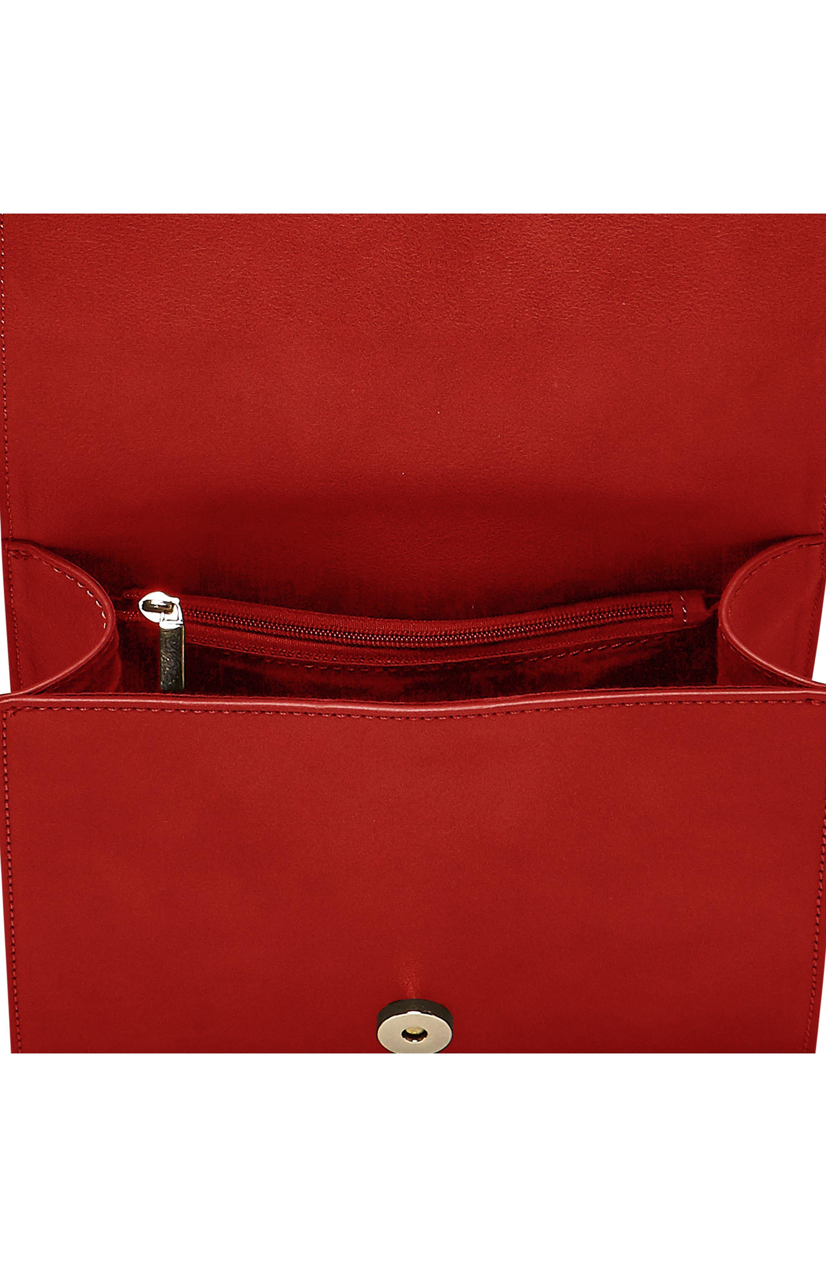Shining Star Vegan Leather Crossbody Bag,                             Alternate thumbnail 12, color,