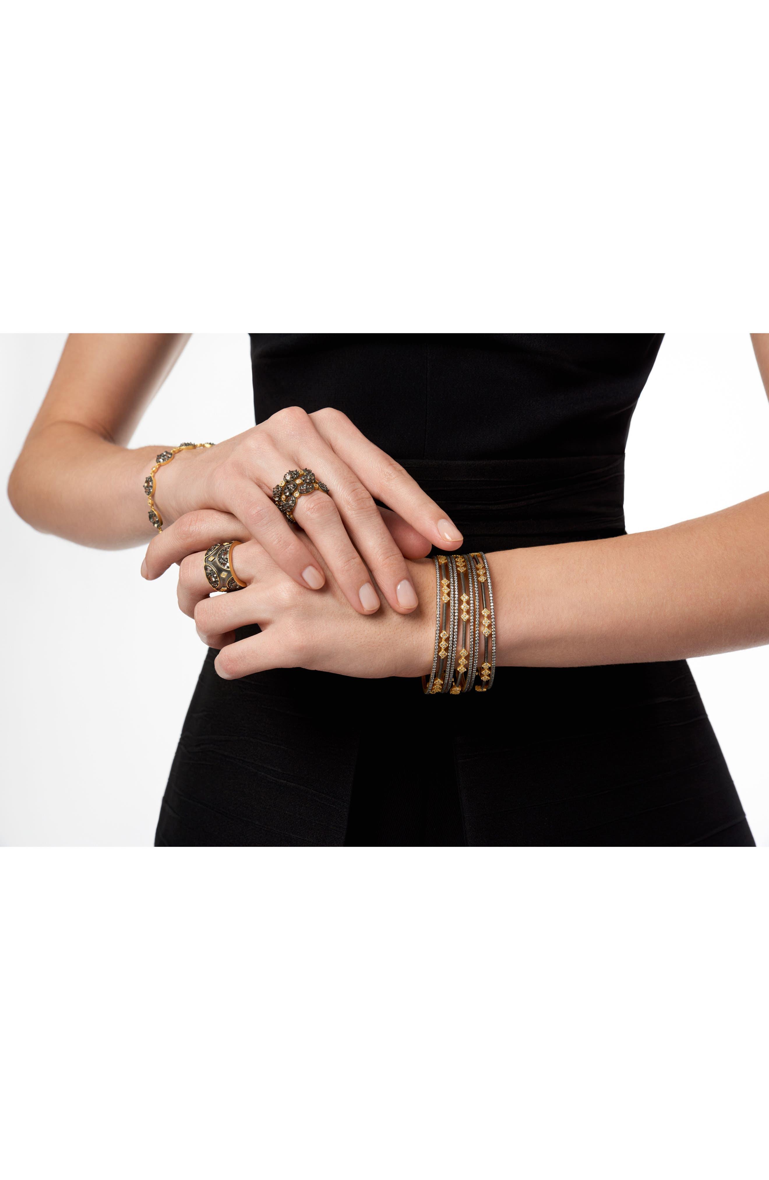 Rose Dor 3-Stack Bracelets,                             Alternate thumbnail 3, color,                             710