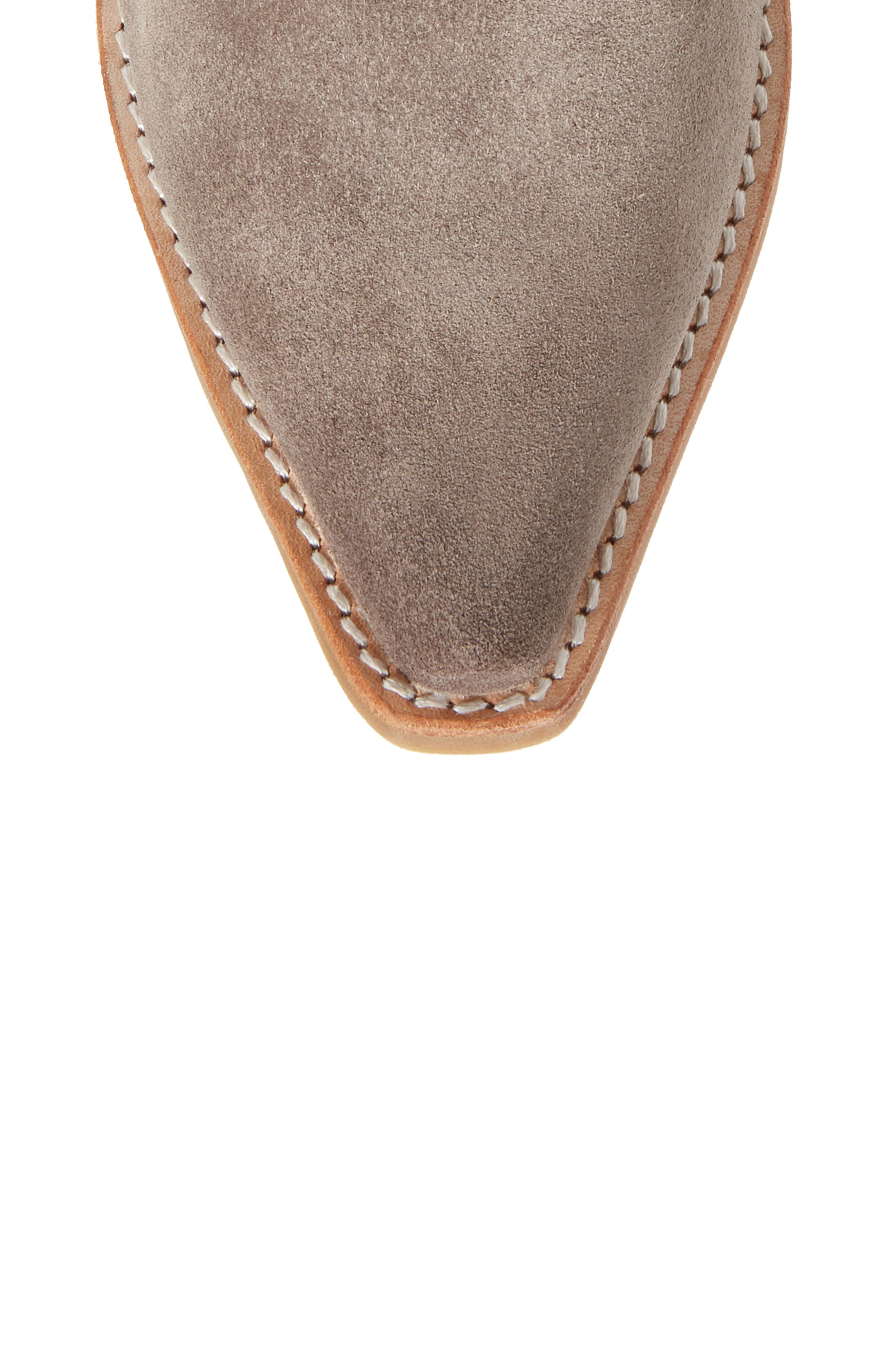 Dagget Western Boot,                             Alternate thumbnail 5, color,                             TAUPE SUEDE
