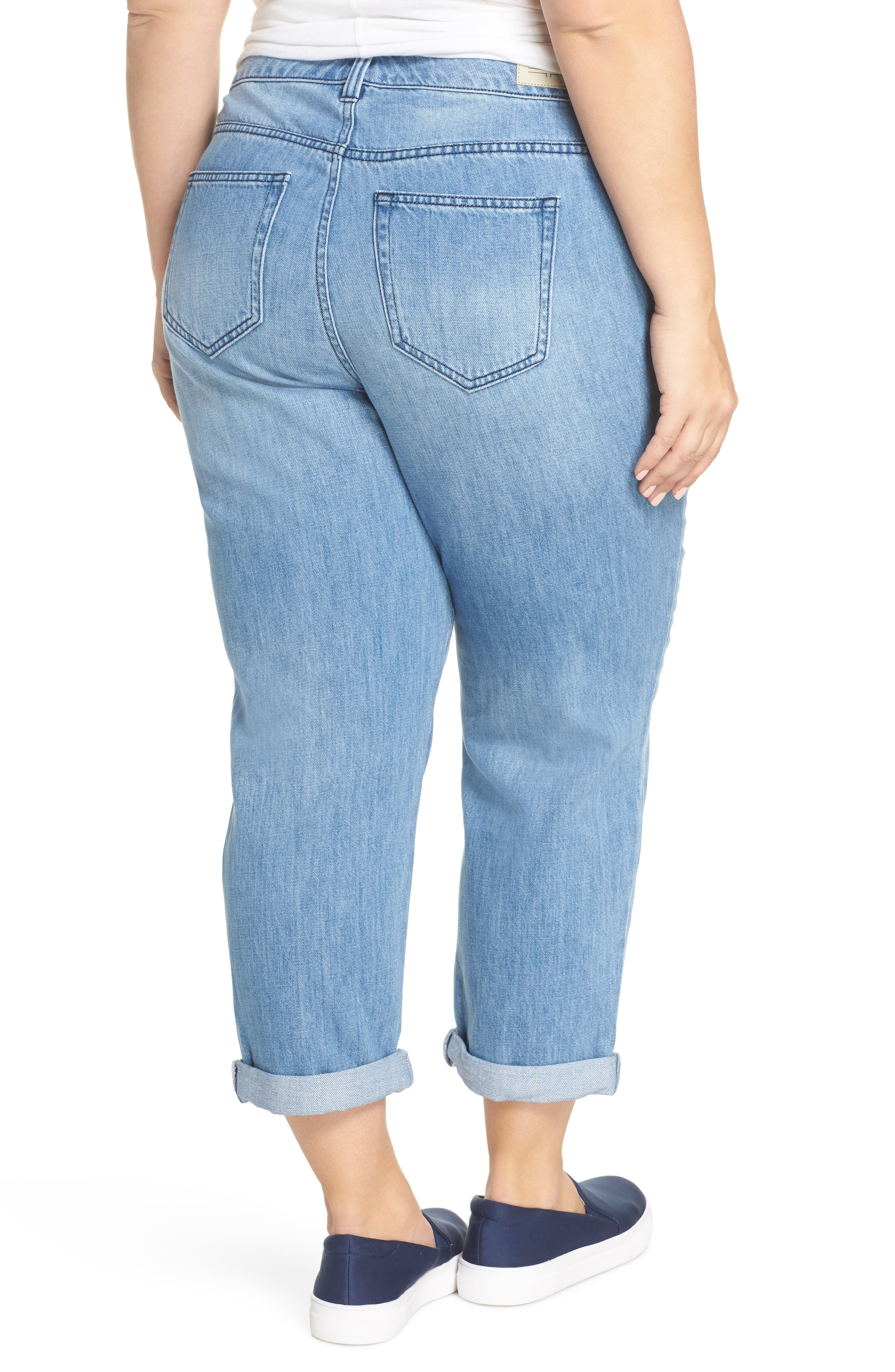 Cameron Crop Boyfriend Jeans,                             Alternate thumbnail 2, color,