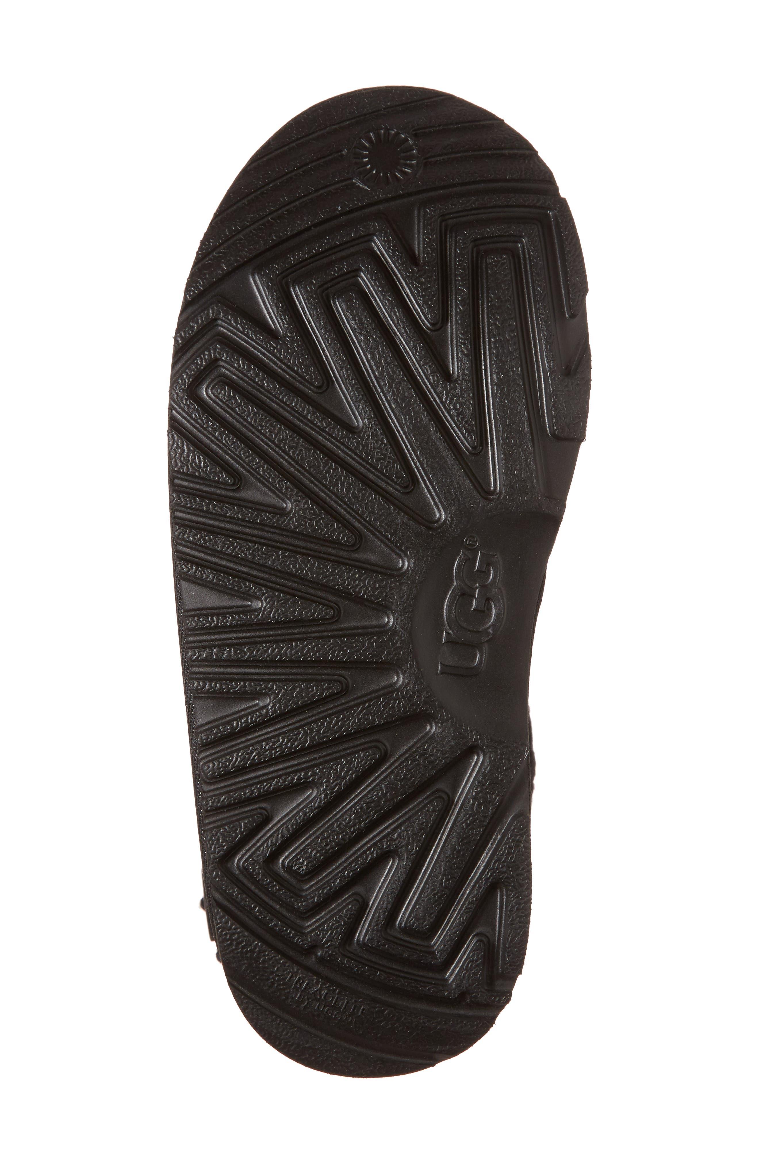 Darrah II Knit Cuff Boot,                             Alternate thumbnail 6, color,                             001