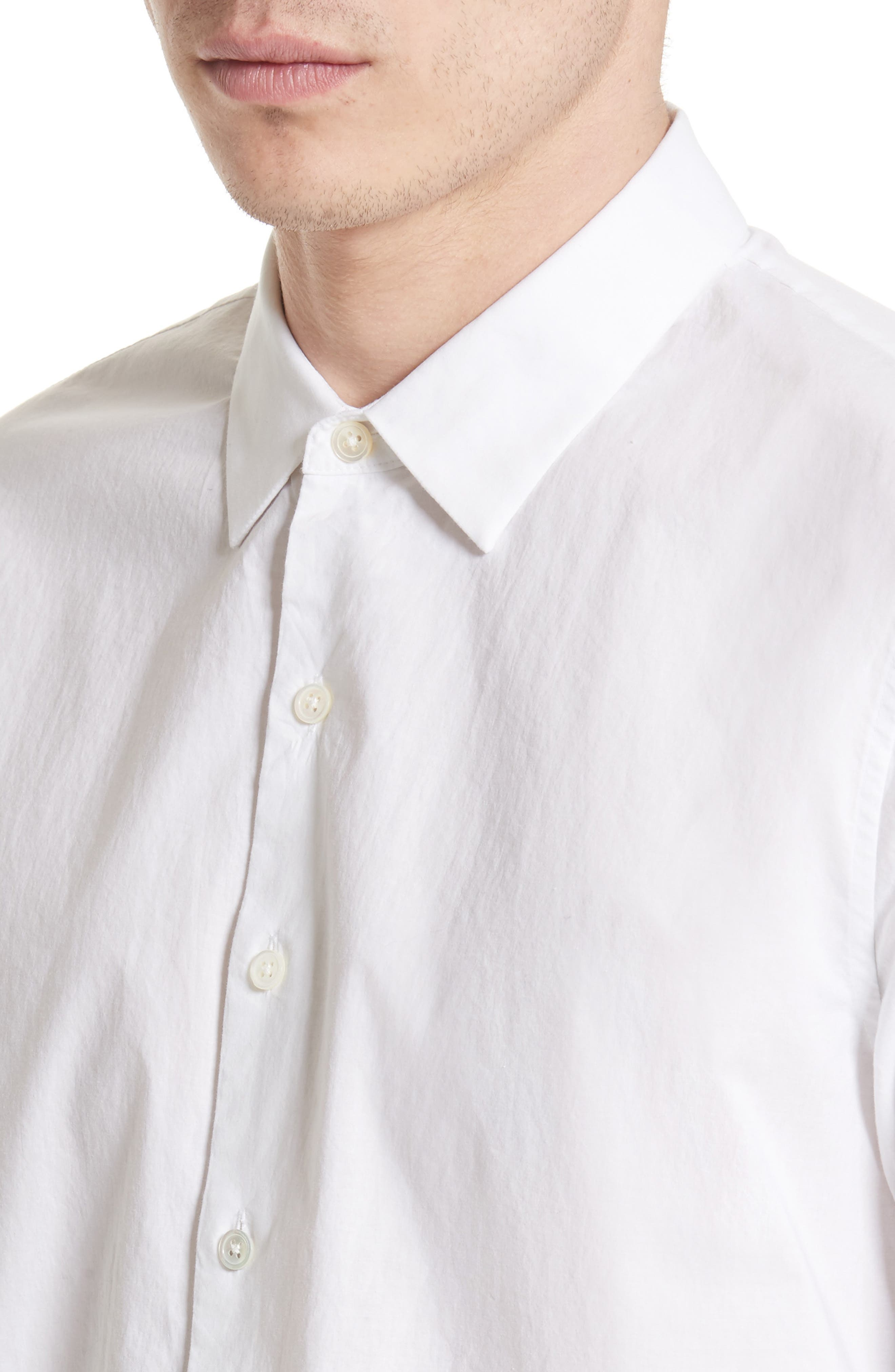 Cotton Dress Shirt,                             Alternate thumbnail 8, color,