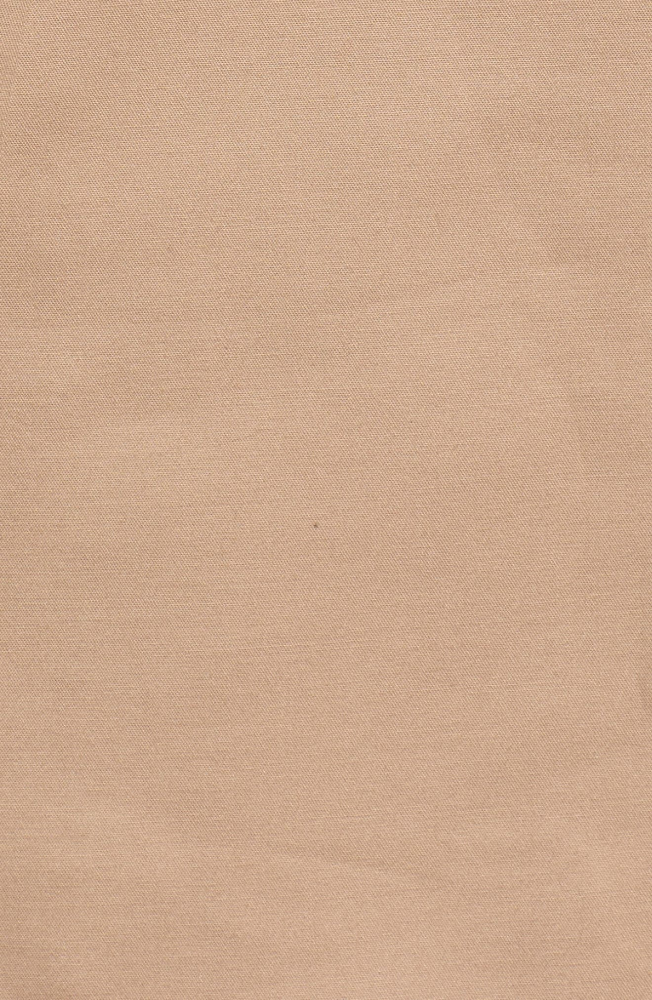 signature back bow trench coat,                             Alternate thumbnail 6, color,                             259
