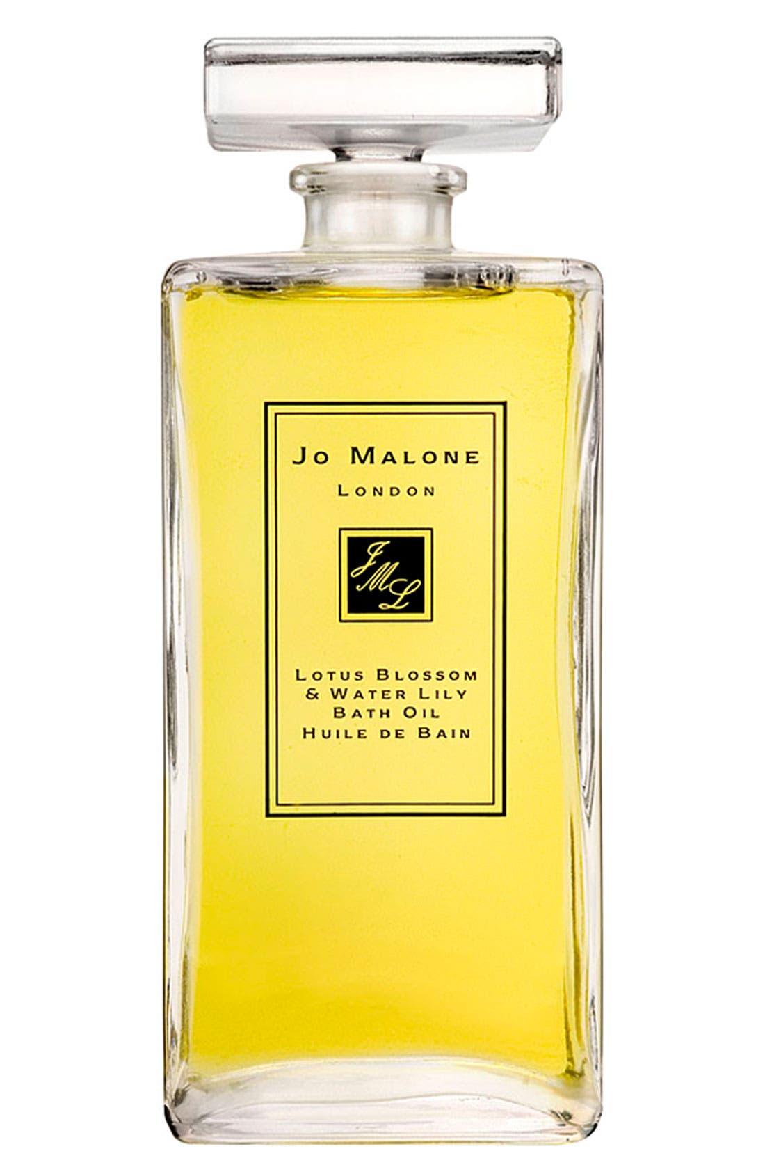 JO MALONE LONDON<SUP>™</SUP>,                             Jo Malone Lotus Blossom & Water Lily Bath Oil,                             Main thumbnail 1, color,                             000