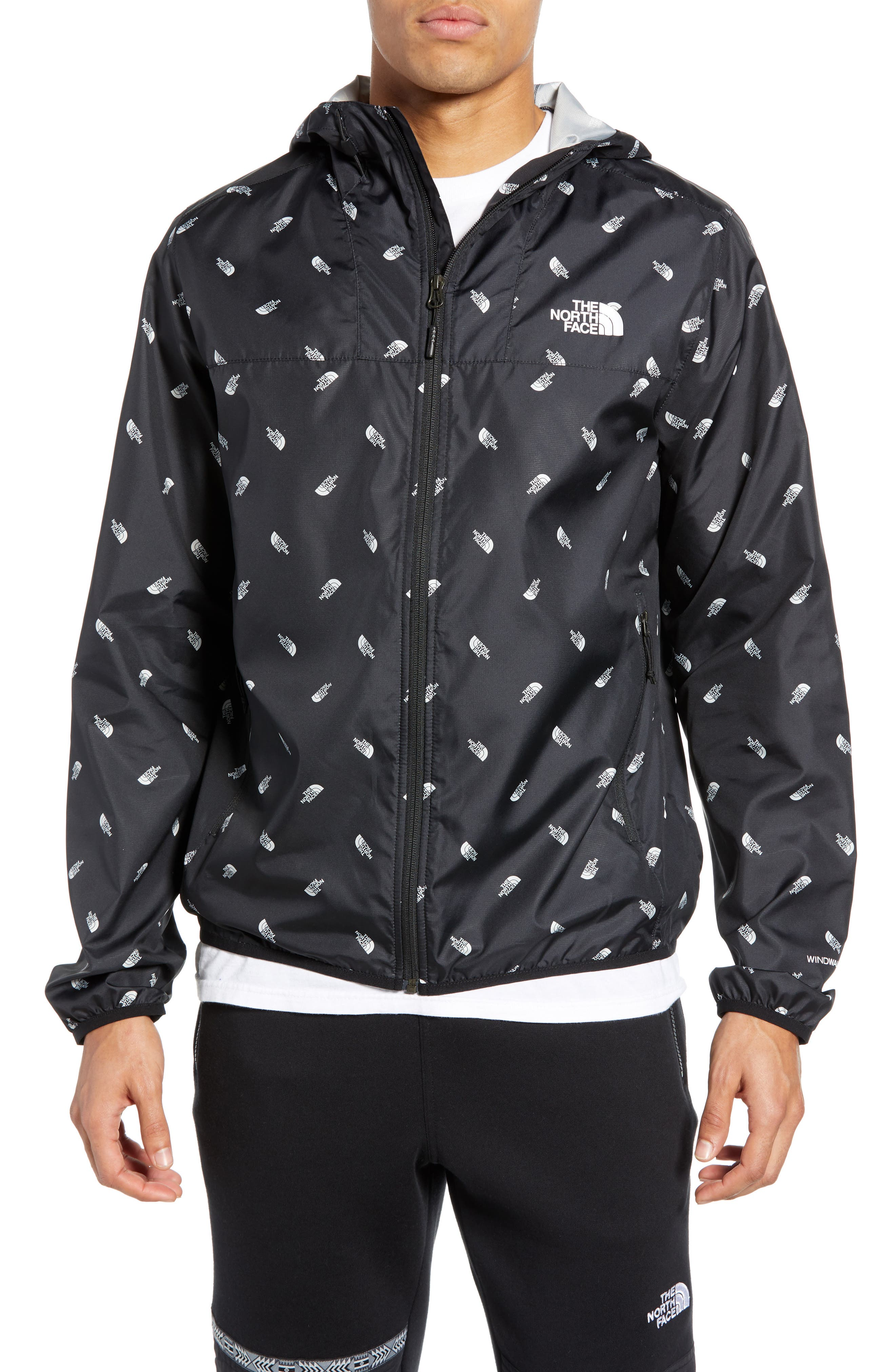 The North Face Cyclone Windwall Jacket, Black