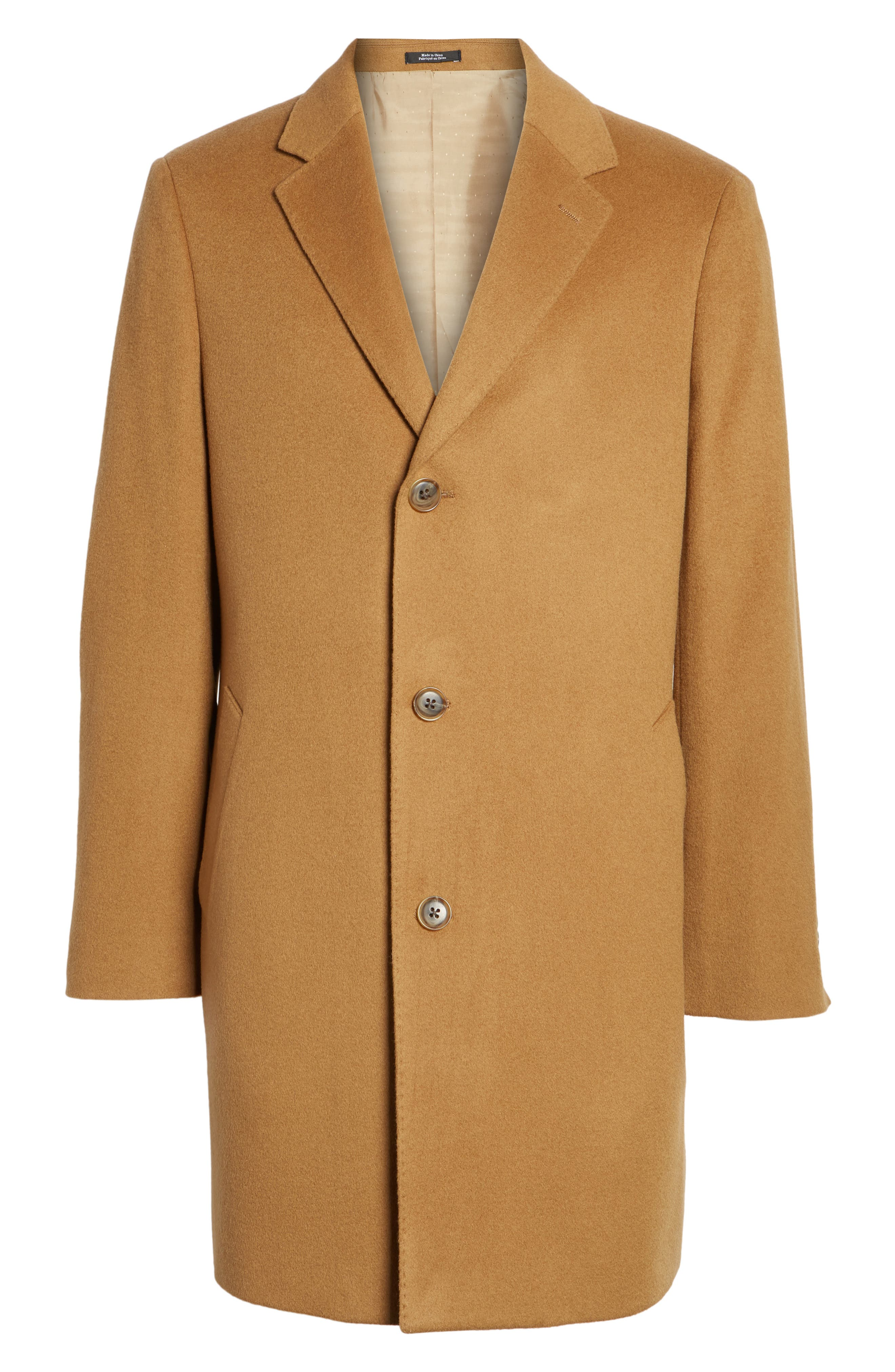 Mason Wool & Cashmere Overcoat,                             Alternate thumbnail 15, color,