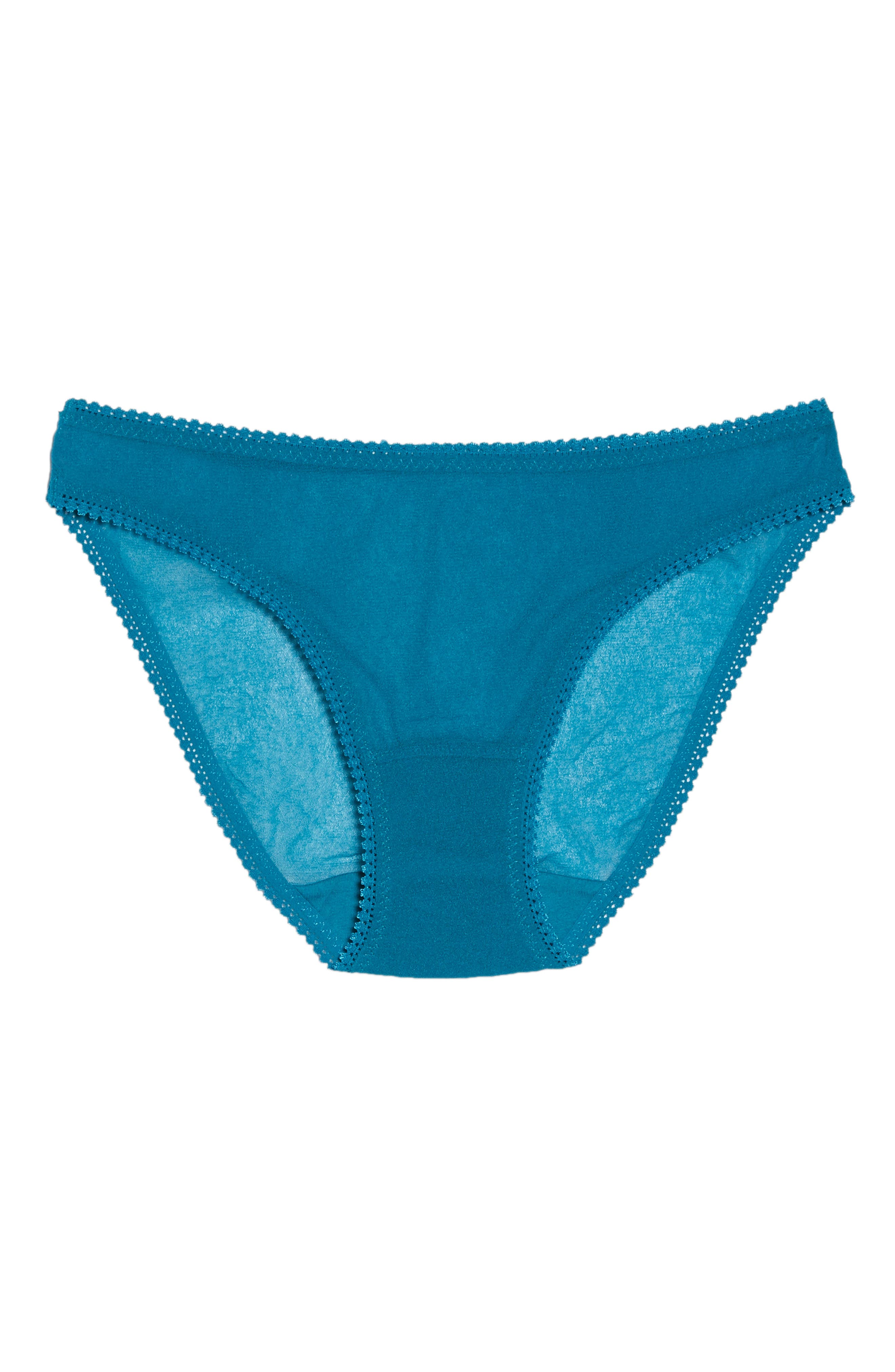 Mesh Bikini,                             Alternate thumbnail 6, color,                             OCEAN DEPTHS
