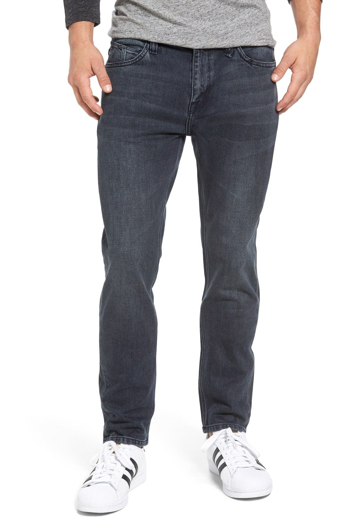 'Solver' Tapered Jeans,                             Main thumbnail 3, color,