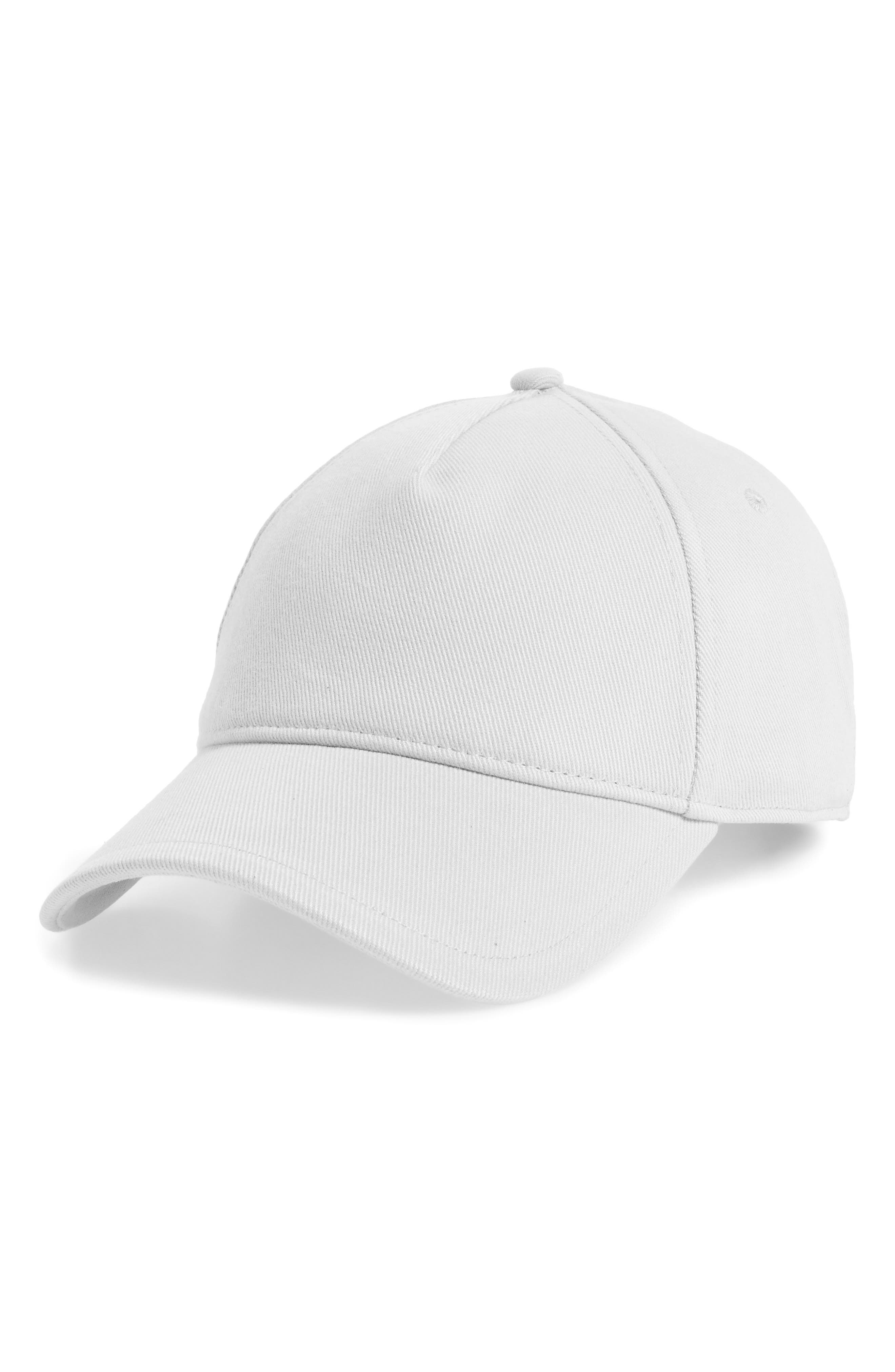Marilyn Leather-Trimmed Cotton-Twill Baseball Cap in Purple