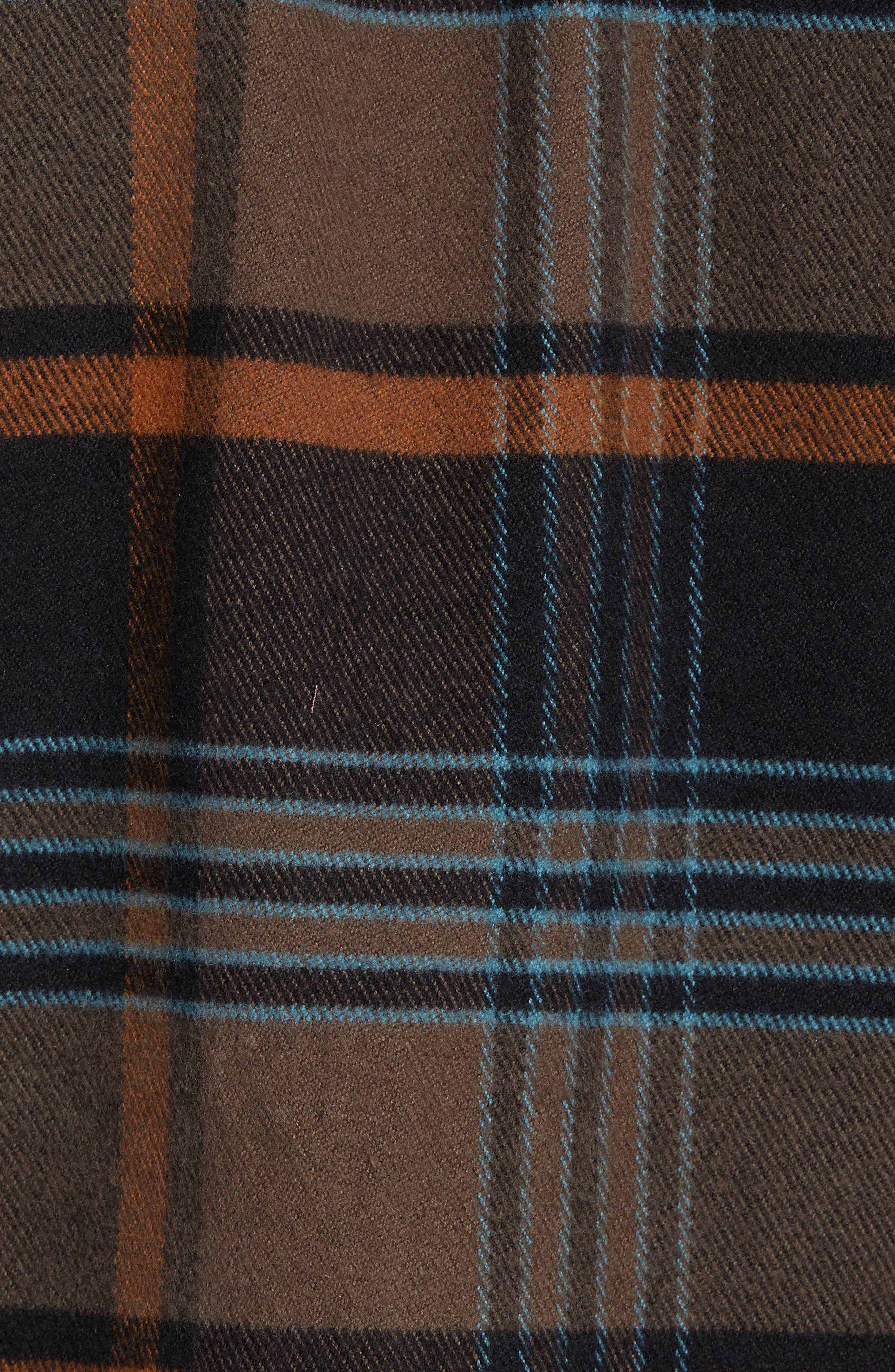 Ridgemont Flannel Shirt,                             Alternate thumbnail 5, color,                             216