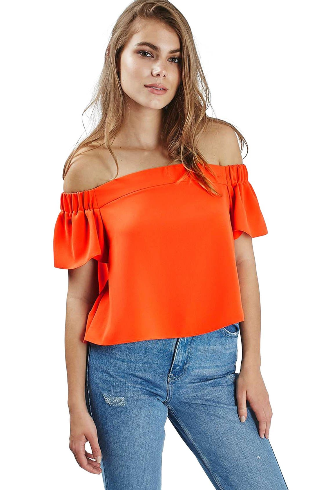 'Livi' Off the Shoulder Top,                             Alternate thumbnail 15, color,