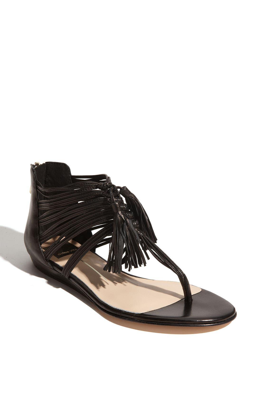 'Idalia' Sandal,                         Main,                         color, 001