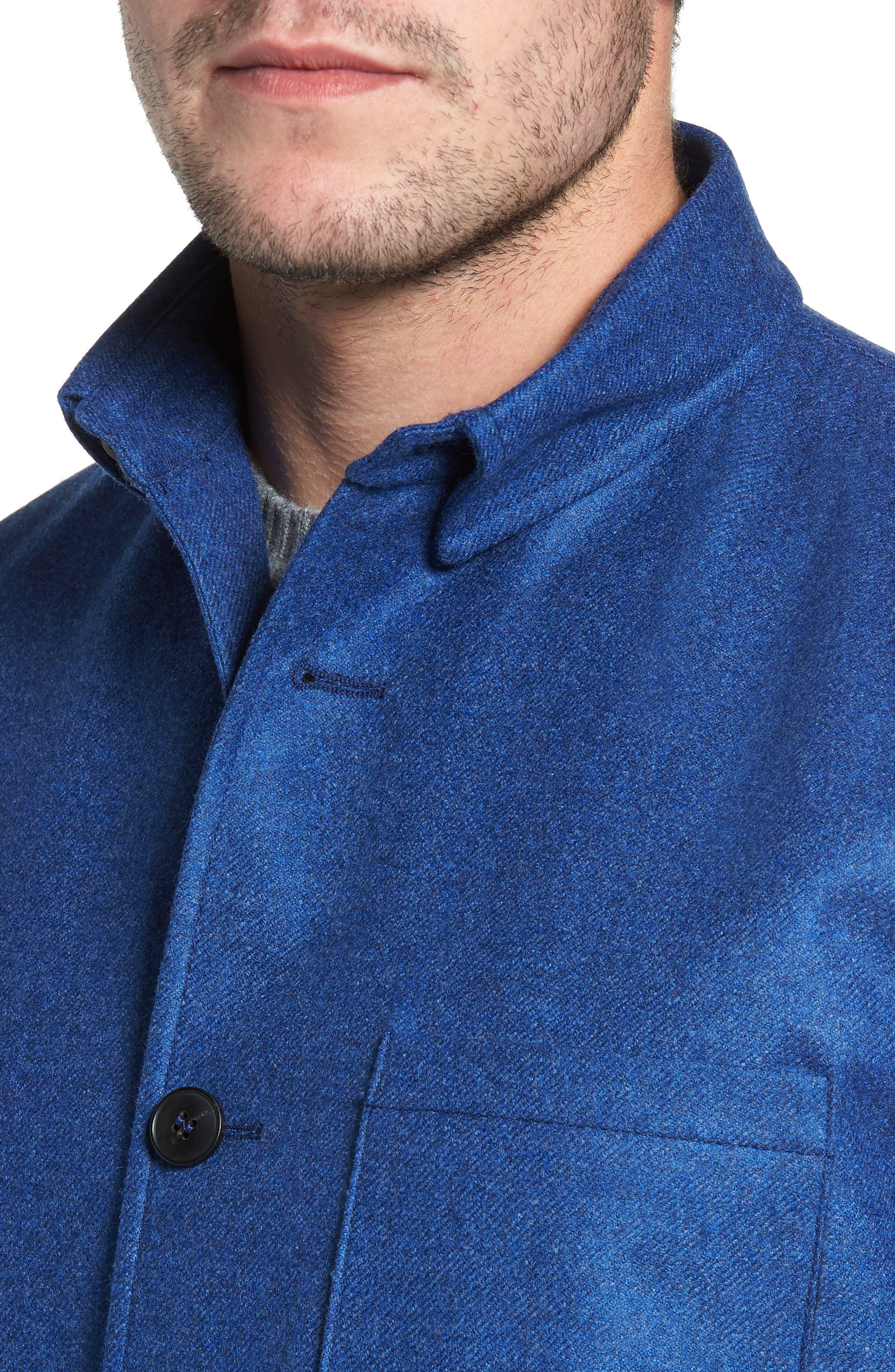 Loro Piana Storm System Shirt Jacket,                             Alternate thumbnail 19, color,