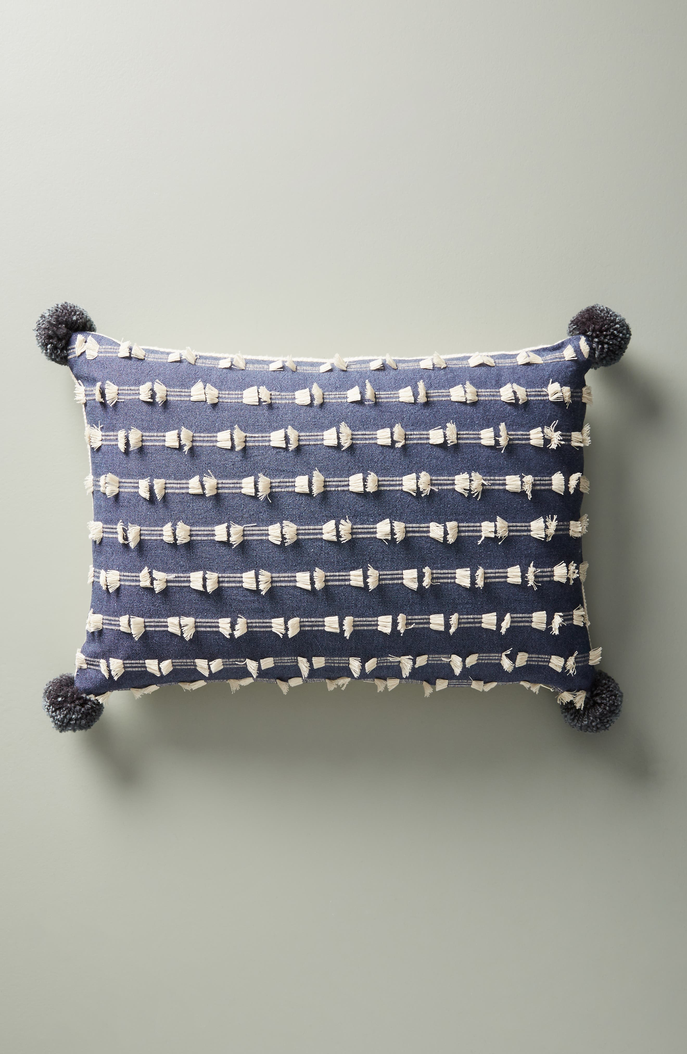 ANTHROPOLOGIE Glenrio Accent Pillow, Main, color, 650
