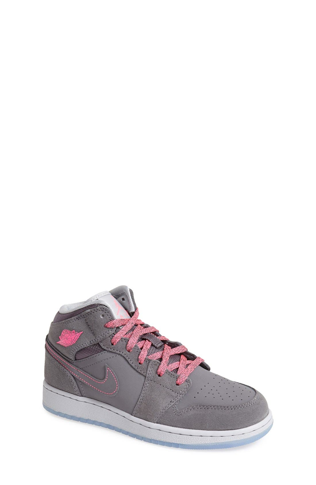 Nike 'Air Jordan 1 Mid' Sneaker,                             Main thumbnail 3, color,