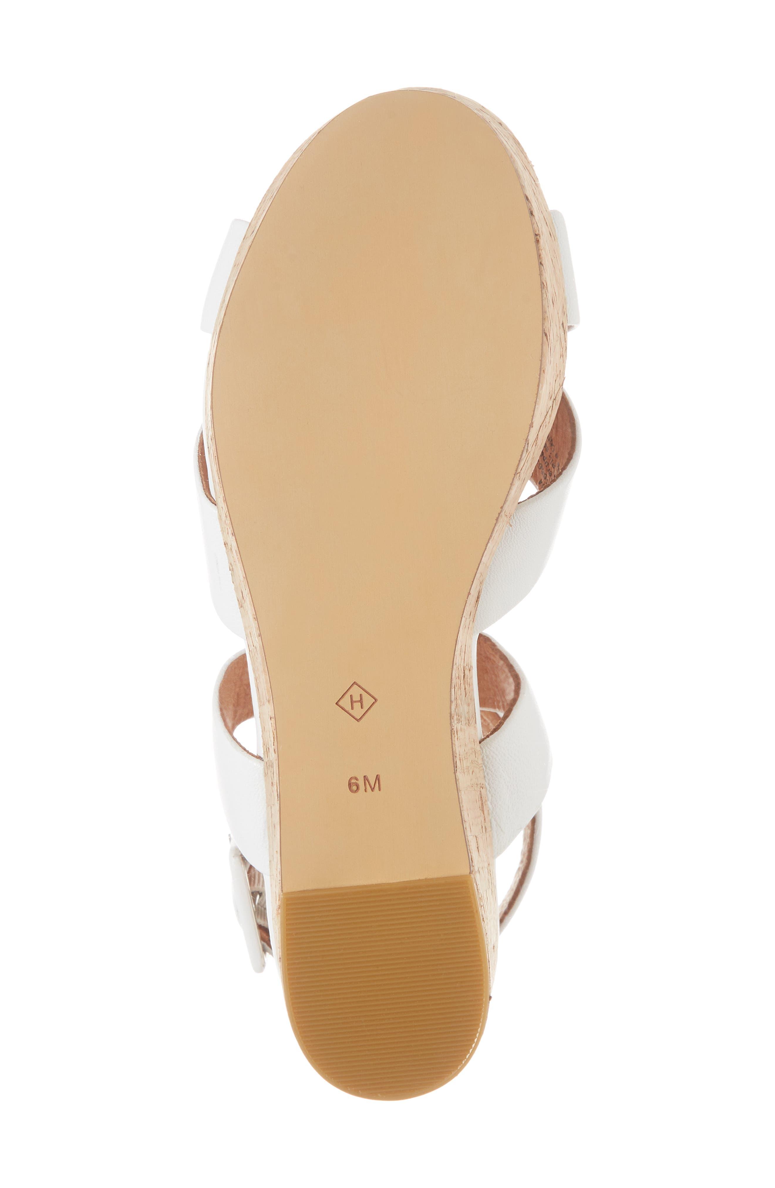 Evie Platform Wedge Sandal,                             Alternate thumbnail 11, color,