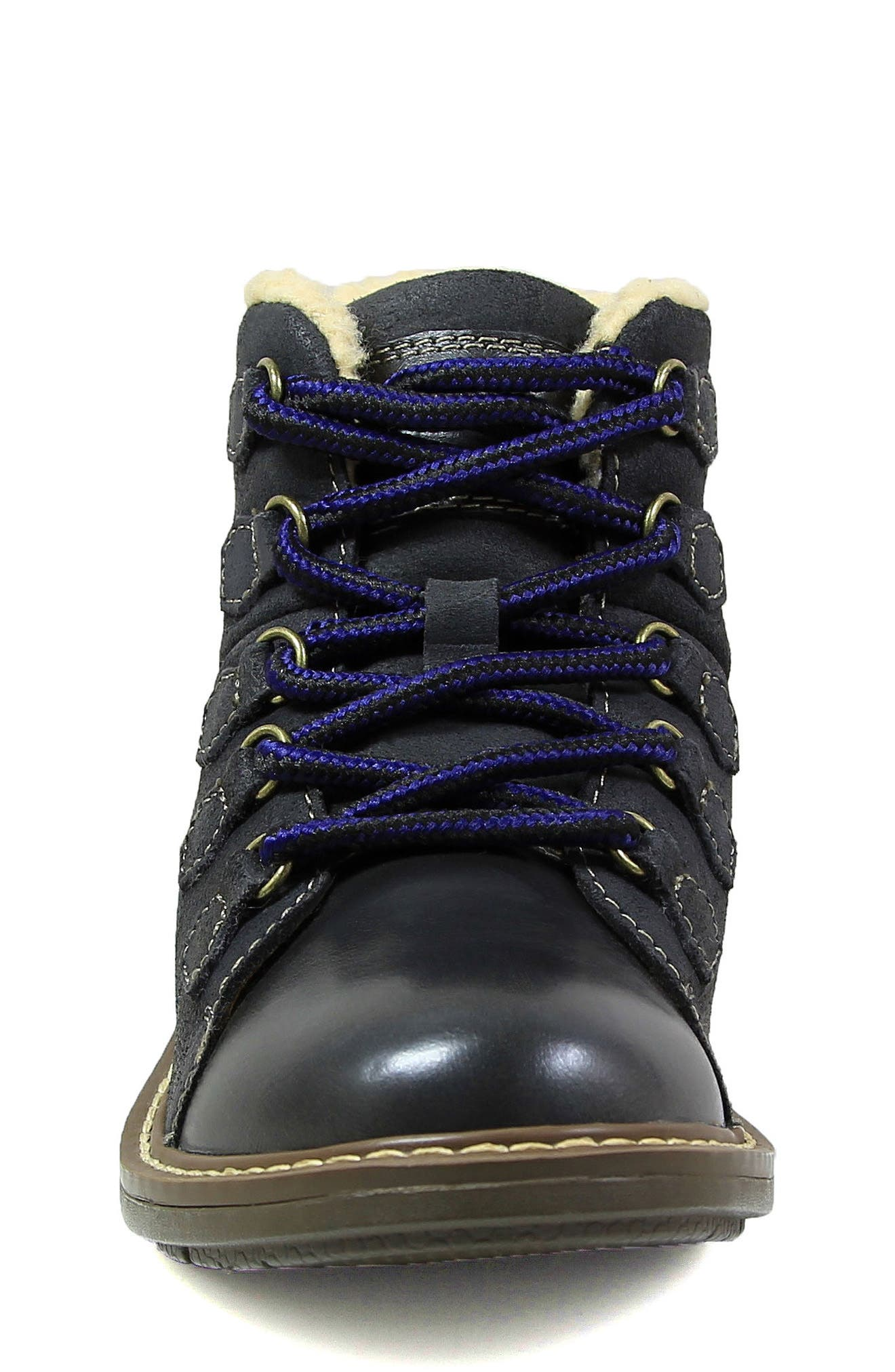 Studio Alpine Plush Lined Boot,                             Alternate thumbnail 4, color,                             020