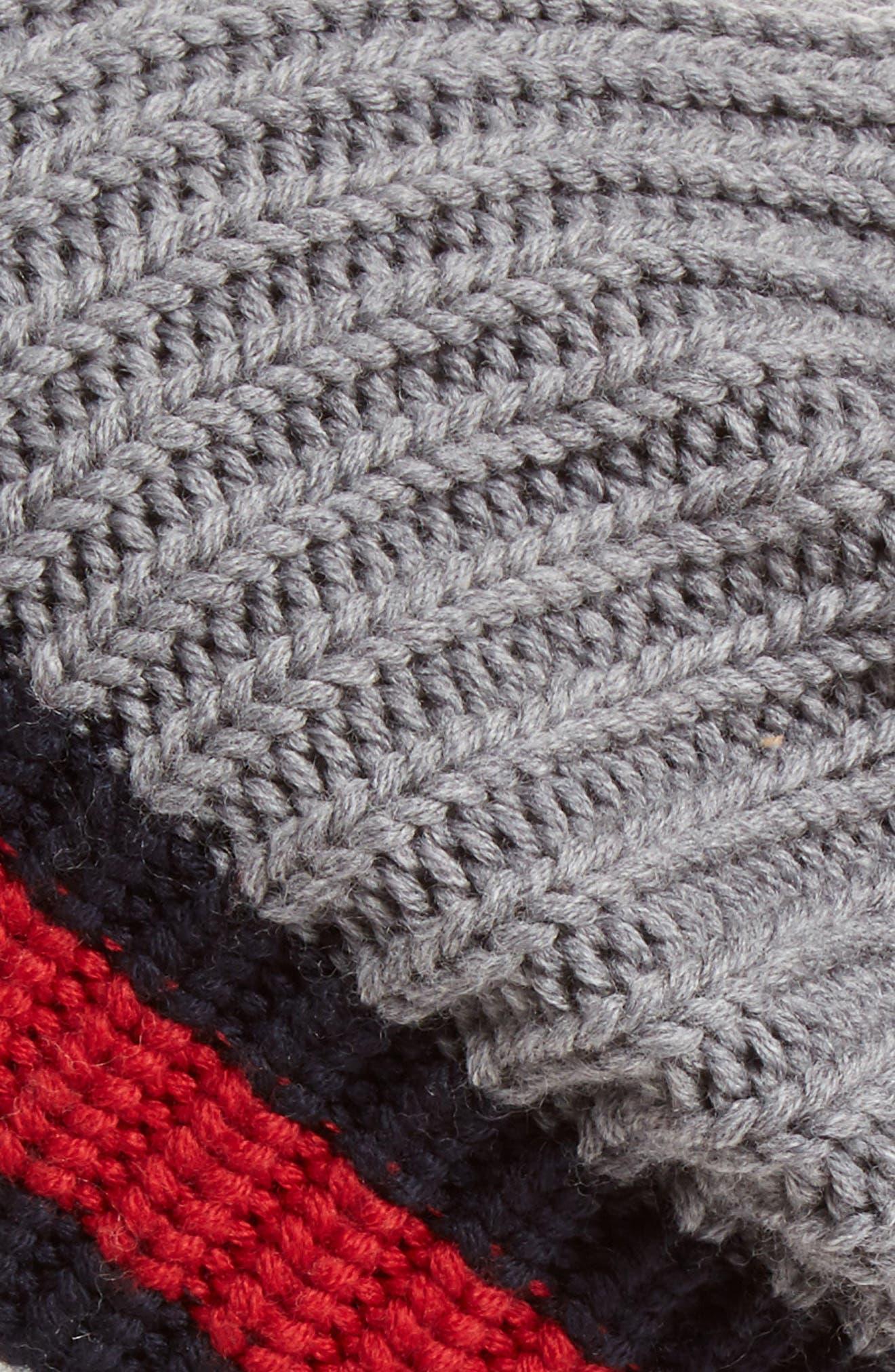 Stripe Wool Beanie,                             Alternate thumbnail 8, color,