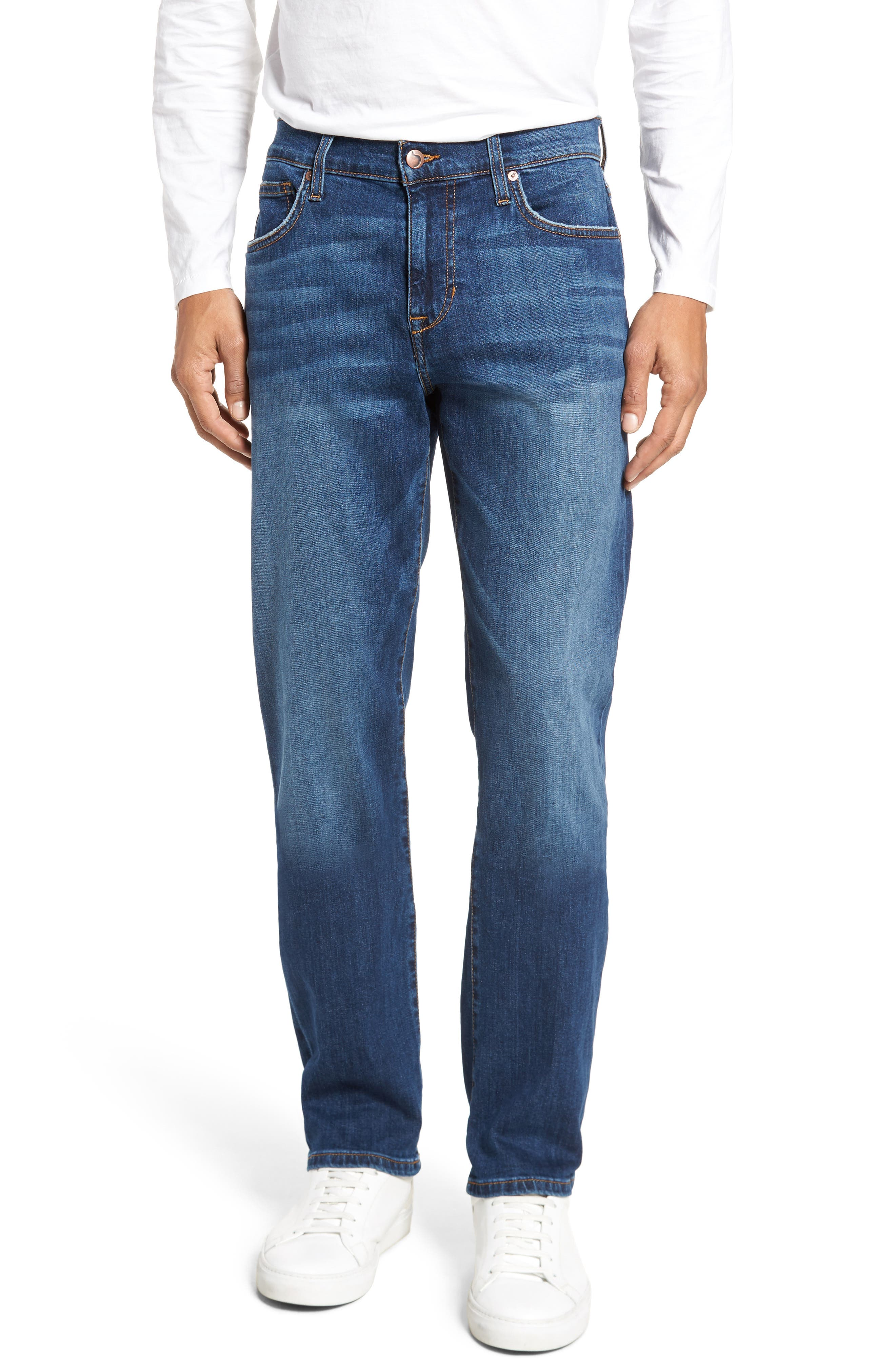Brixton Slim Straight Fit Jeans,                             Main thumbnail 1, color,                             BRADLEE