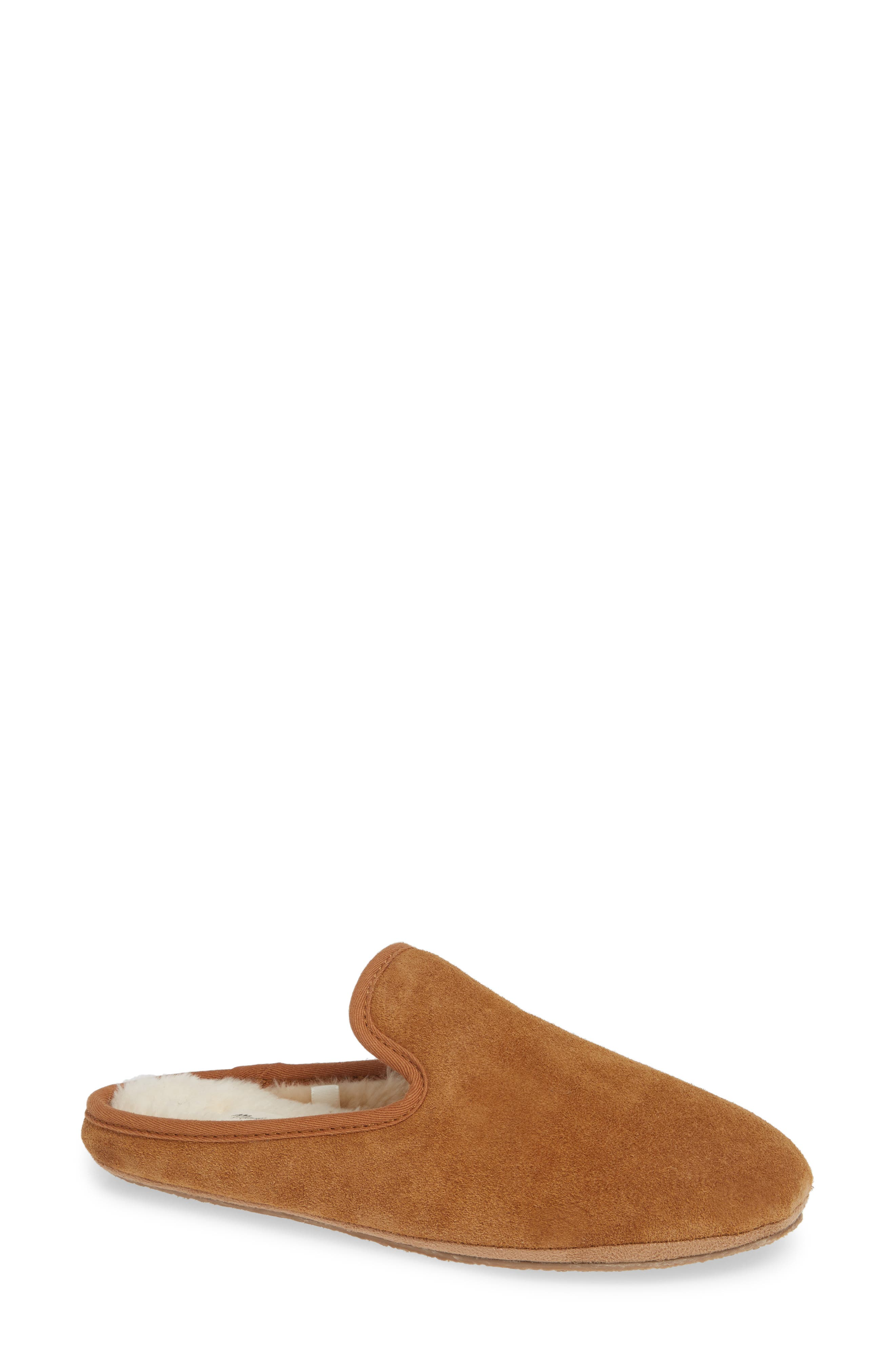 The Loafer Scuff Slipper,                             Main thumbnail 1, color,                             TIMBER BEAM