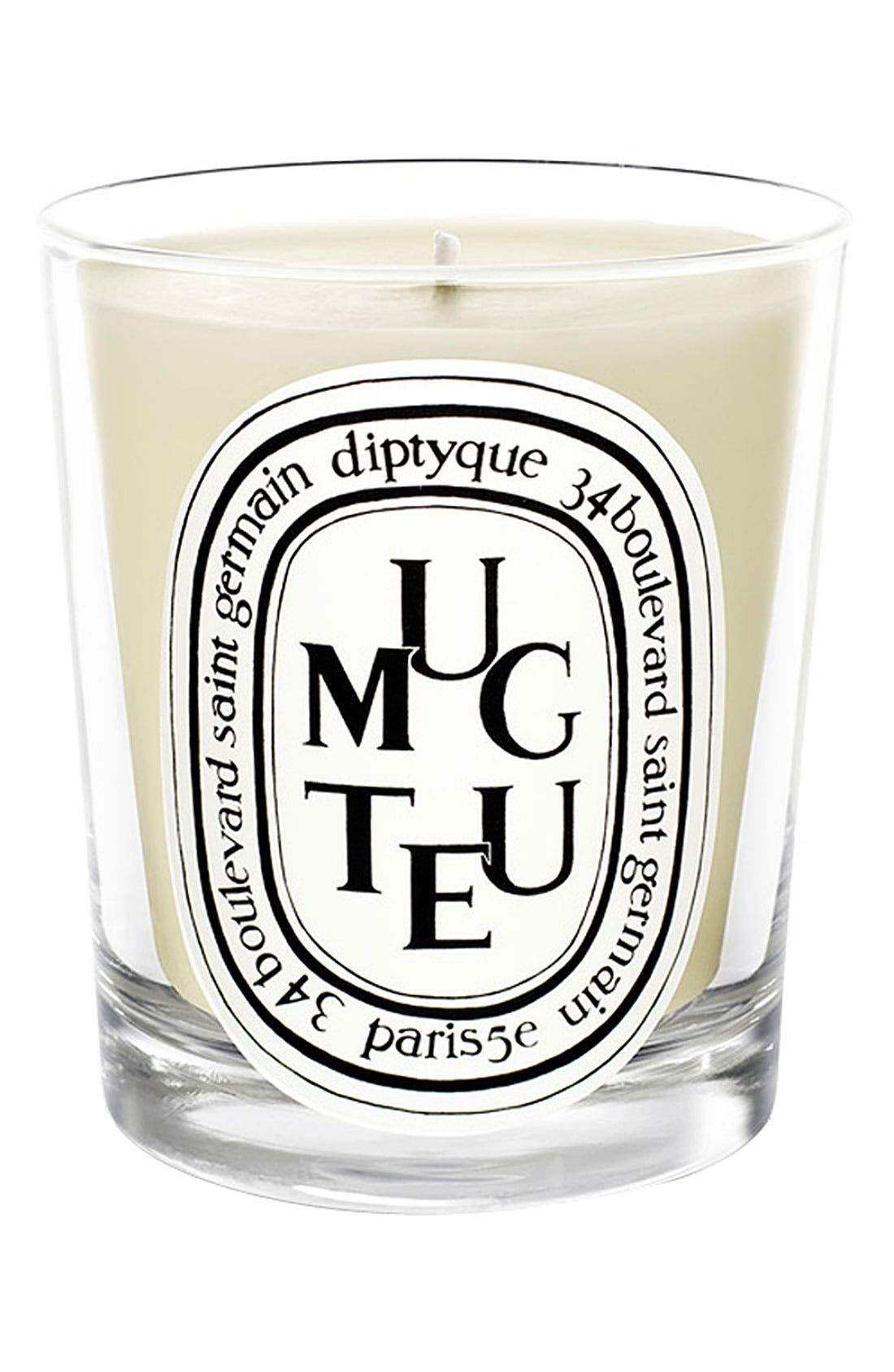 DIPTYQUE,                             Muguet/Lily of the Valley Scented Candle,                             Main thumbnail 1, color,                             000