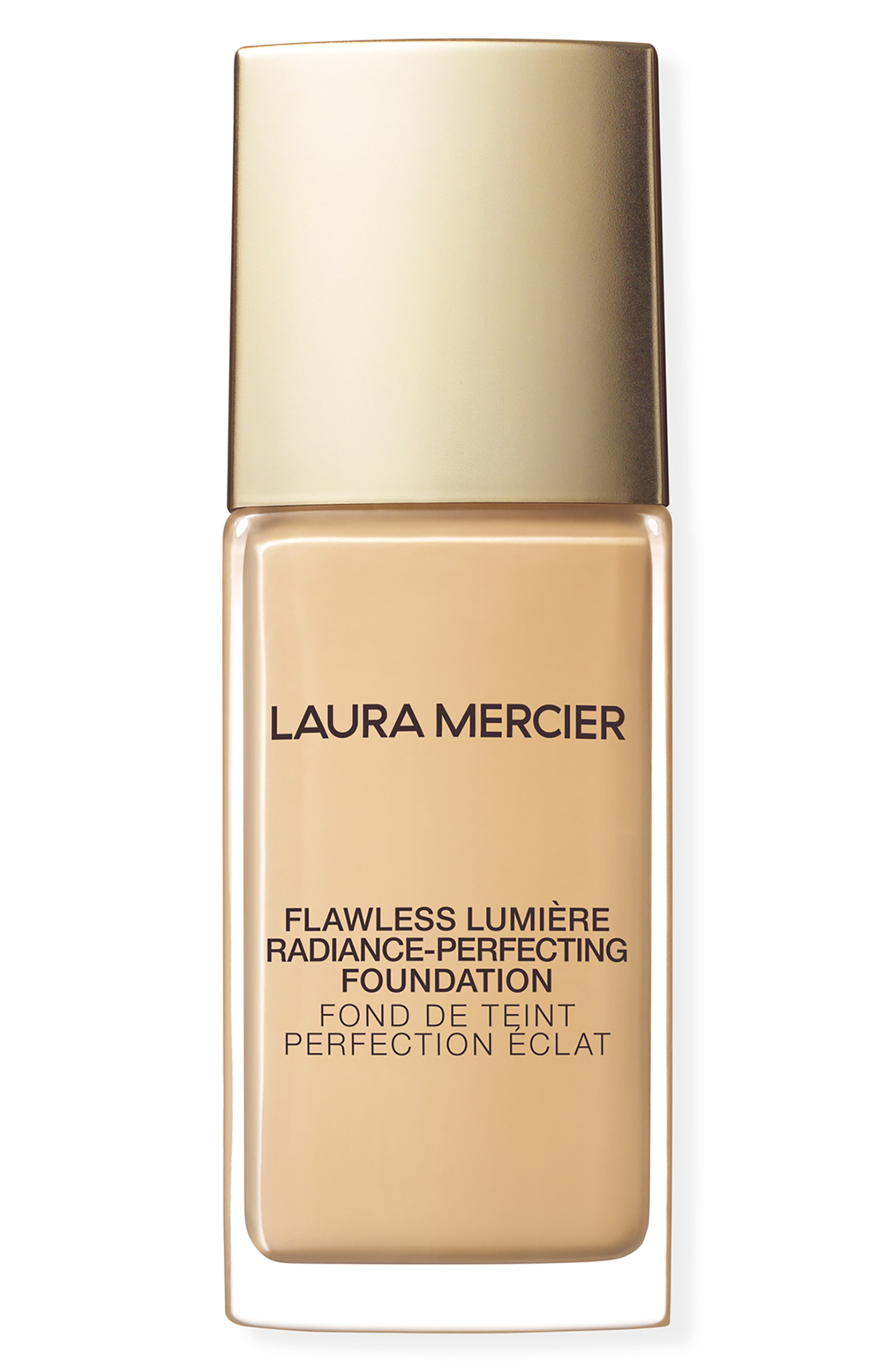 LAURA MERCIER,                             Flawless Lumière Radiance-Perfecting Foundation,                             Main thumbnail 1, color,                             2N1 CASHEW