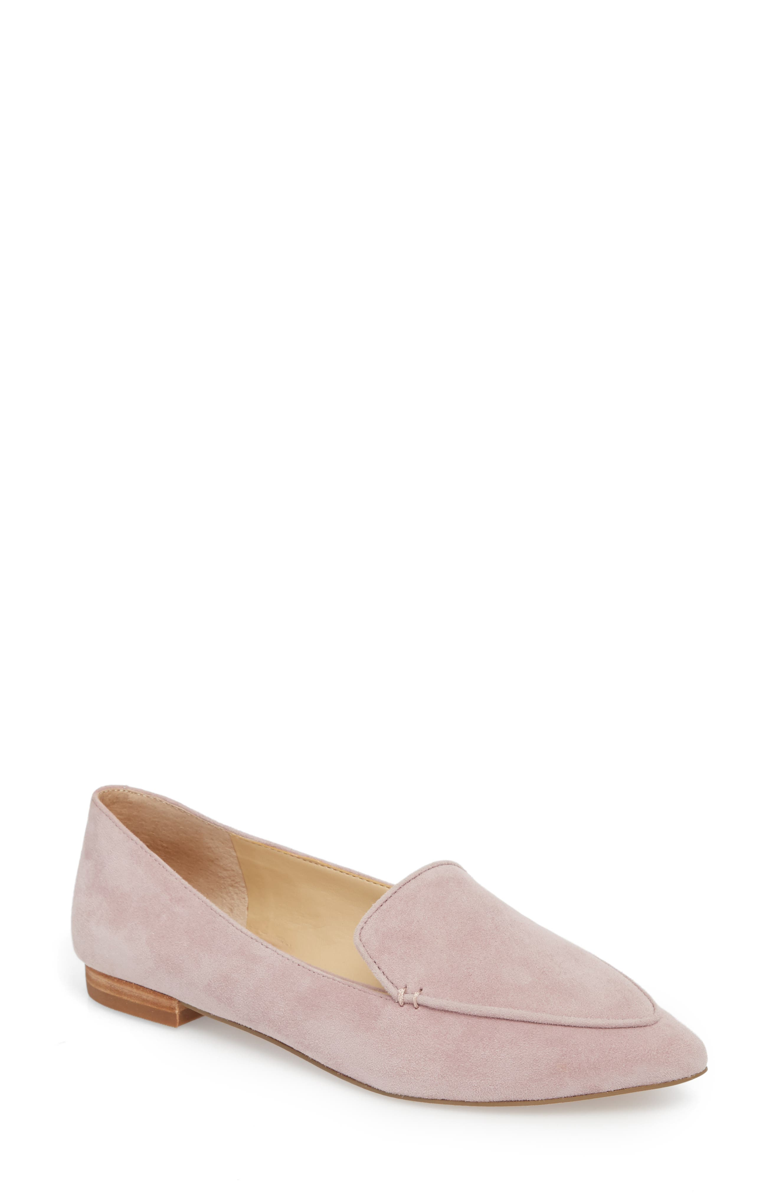 'Cammila' Pointy Toe Loafer,                             Main thumbnail 3, color,
