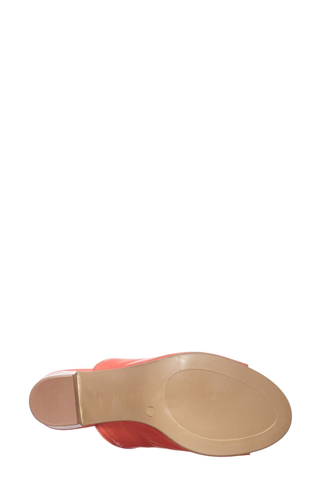 'Arno' Leather Mule,                             Alternate thumbnail 15, color,