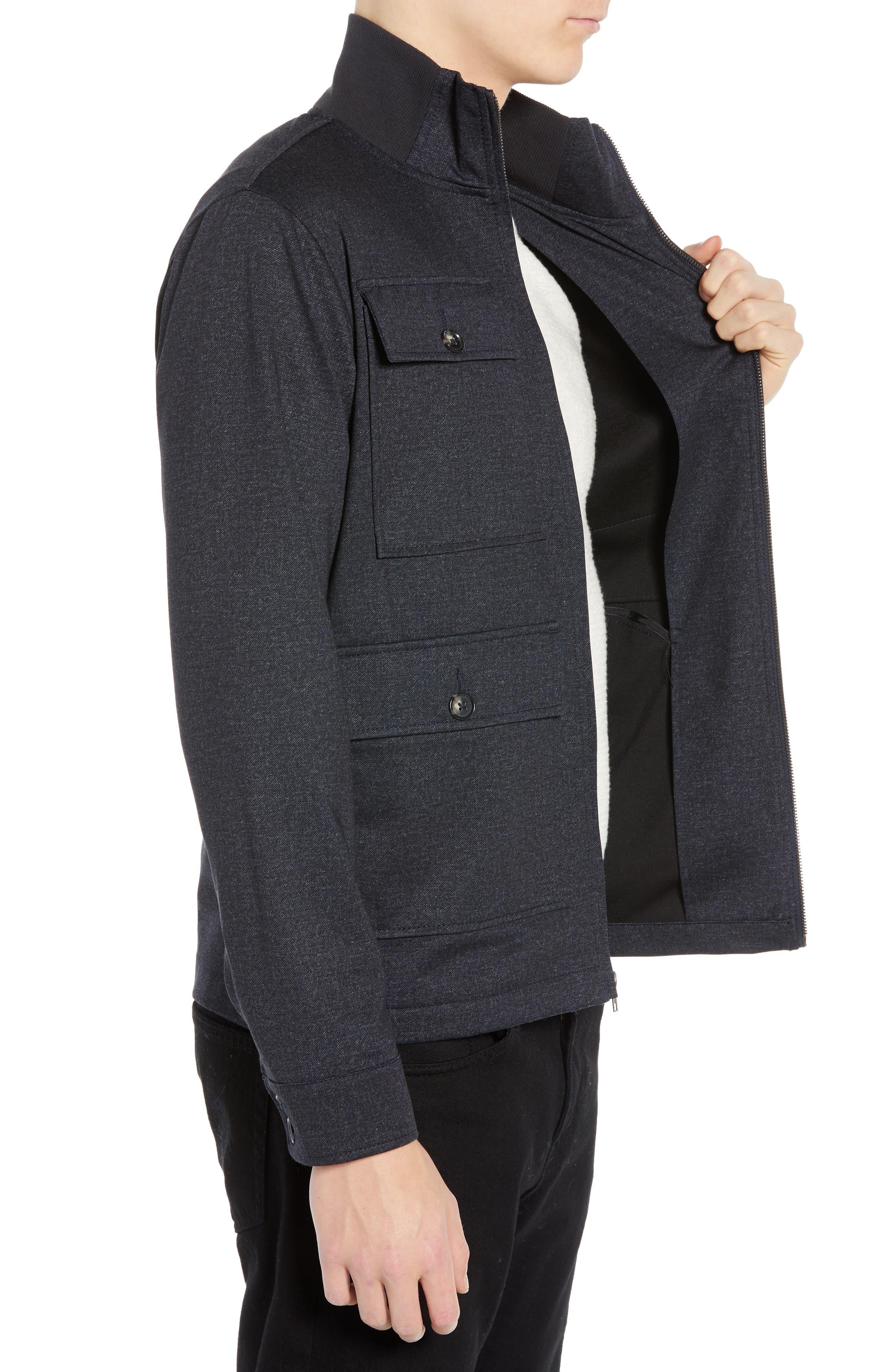 The Best 4-Pocket Jacket,                             Alternate thumbnail 3, color,                             NAVY