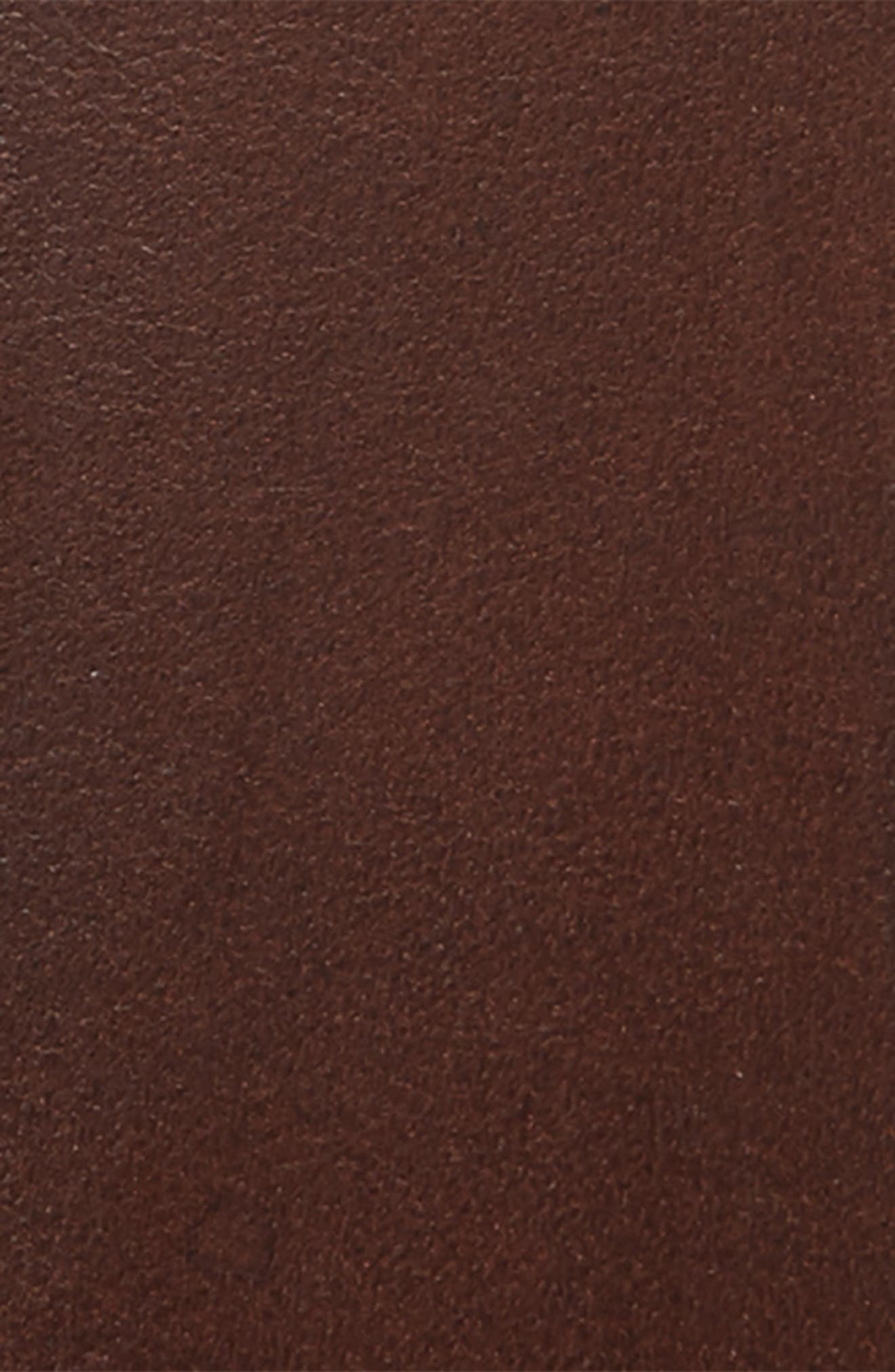 Classic Leather Belt,                             Alternate thumbnail 2, color,                             COGNAC/ BRUSHED STEEL