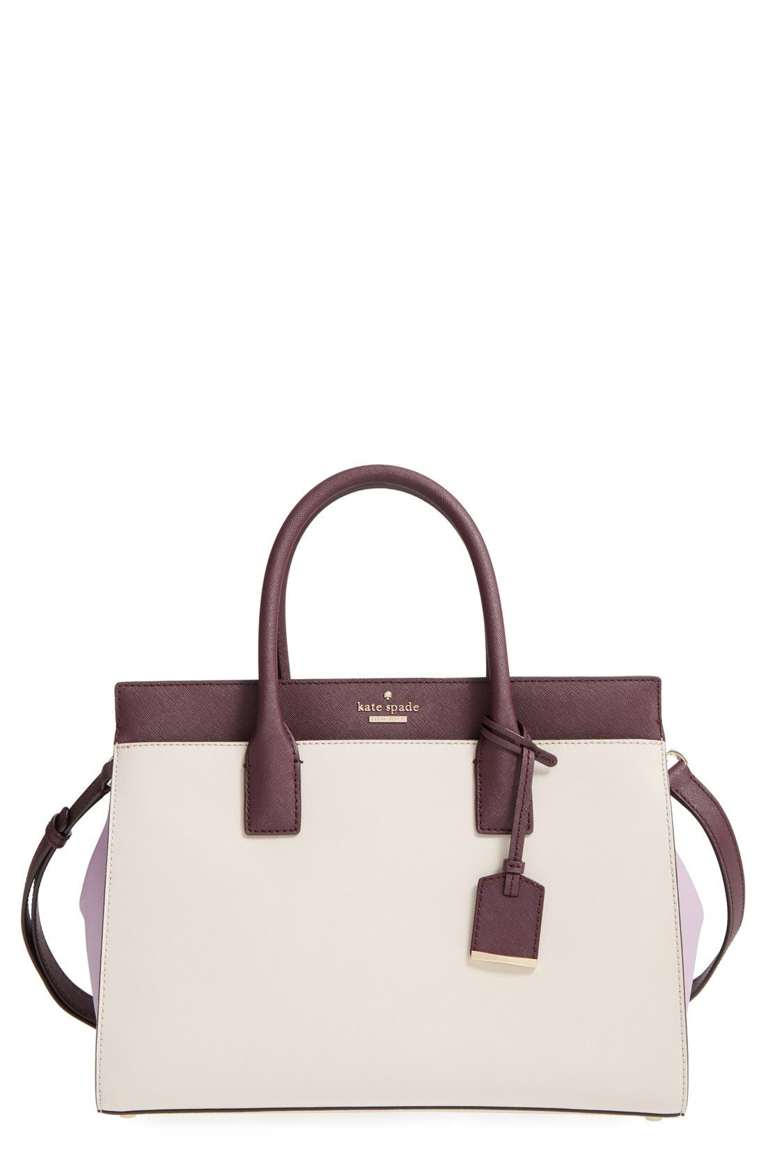 cameron street - candace leather satchel,                             Main thumbnail 23, color,