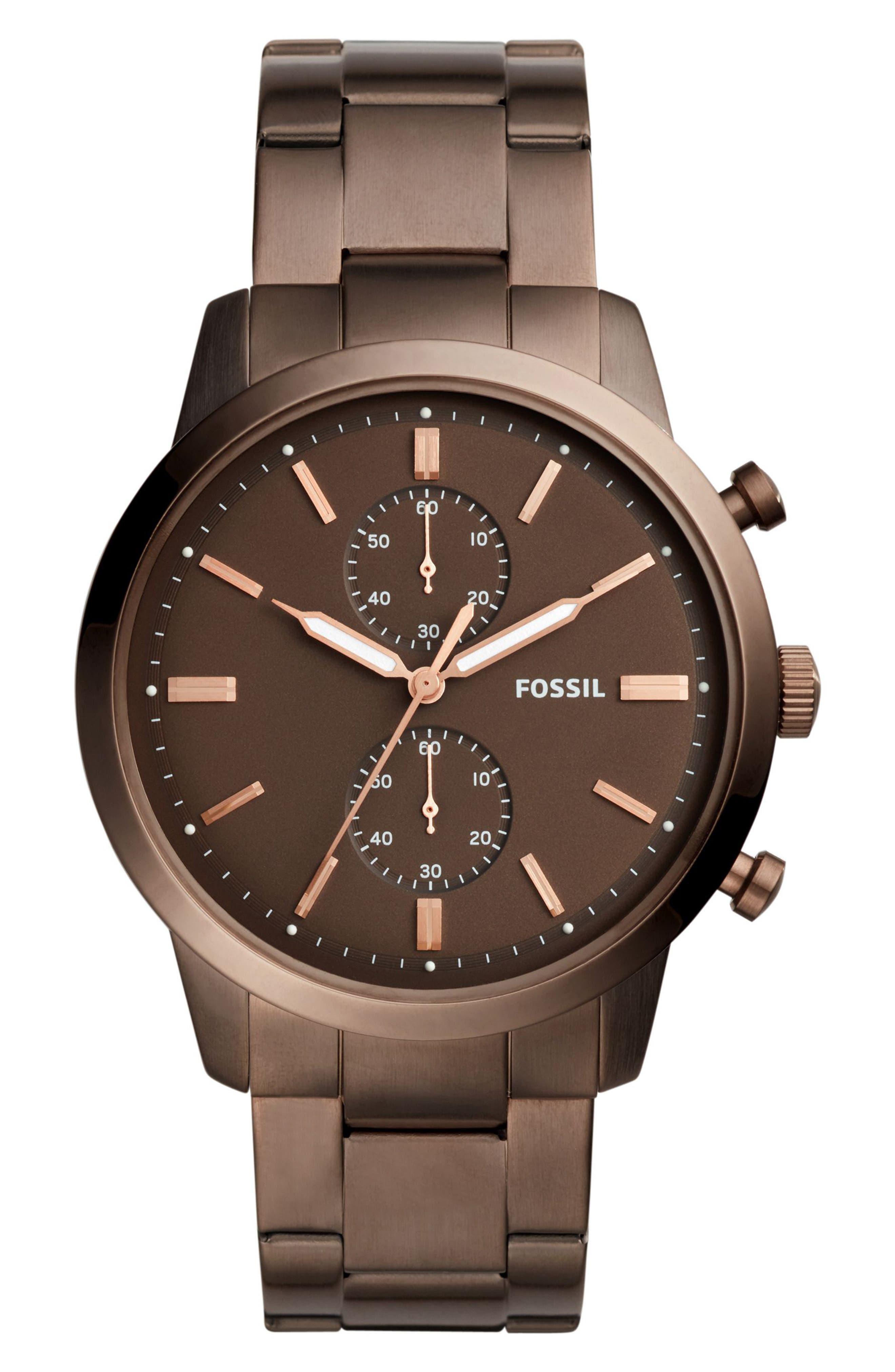 Townsman Chronograph Bracelet Watch, 44mm,                             Main thumbnail 2, color,