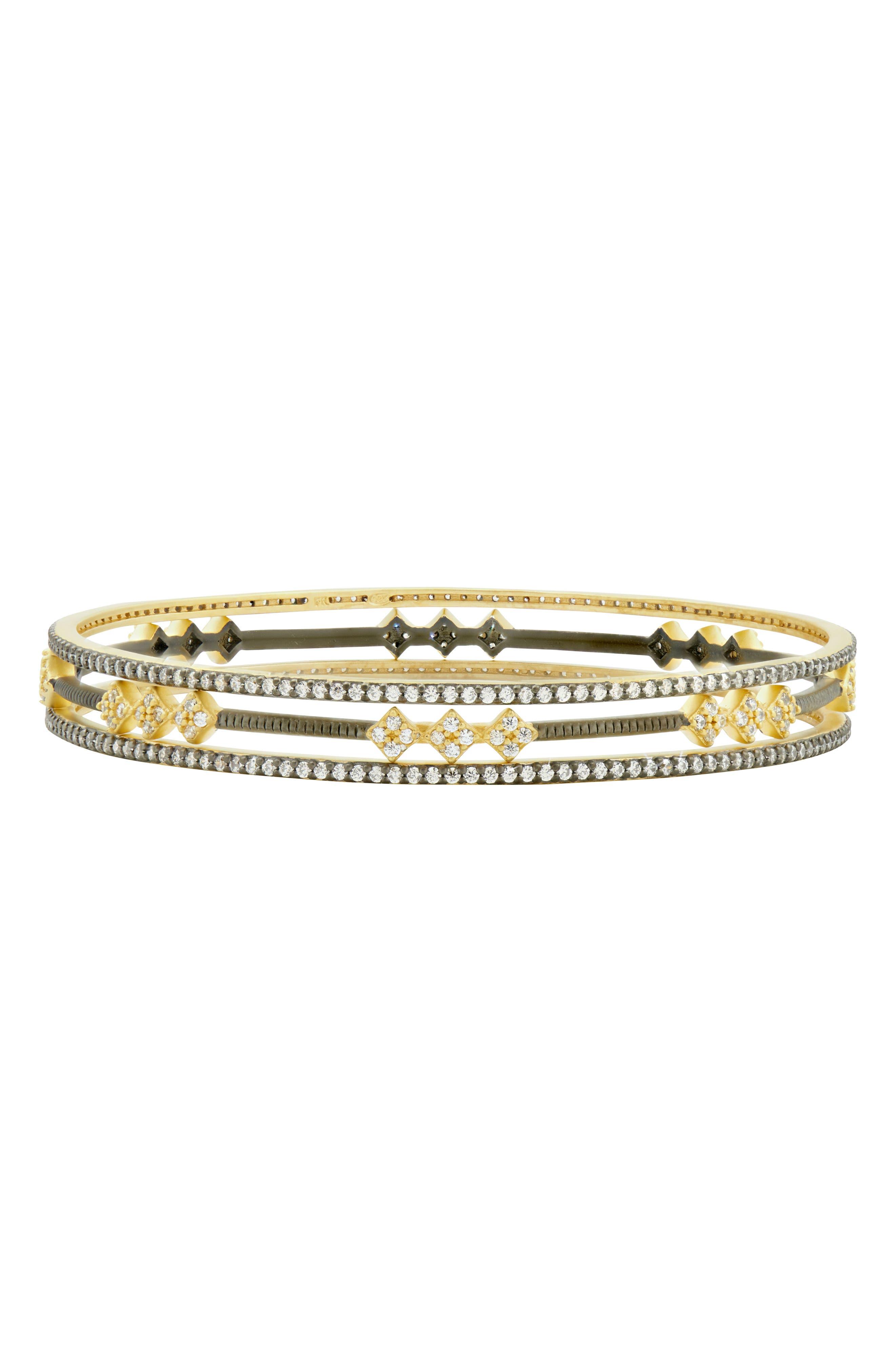 Rose Dor 3-Stack Bracelets,                             Main thumbnail 1, color,