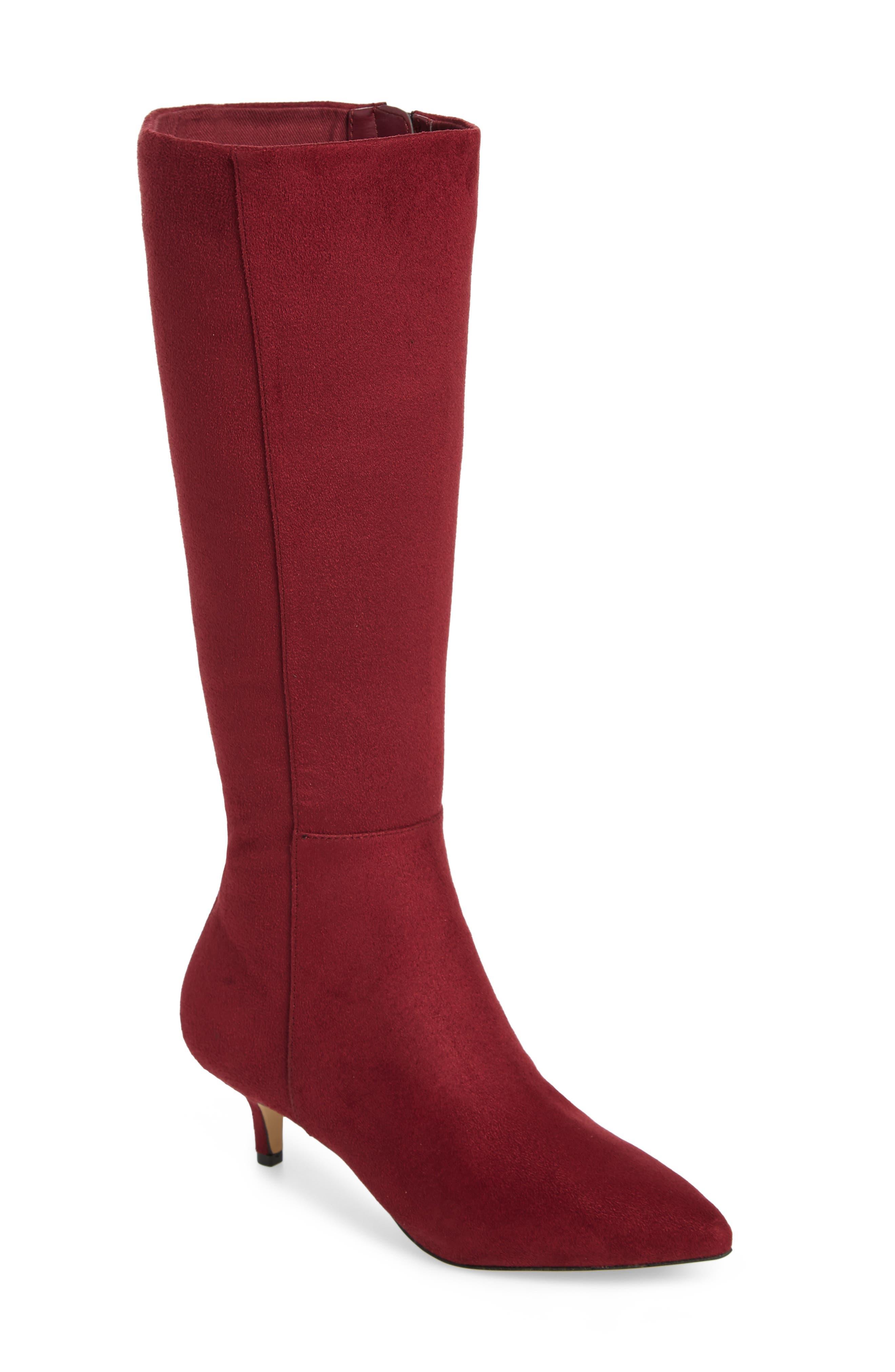 Athena Alexander Lyon Knee High Boot, Burgundy
